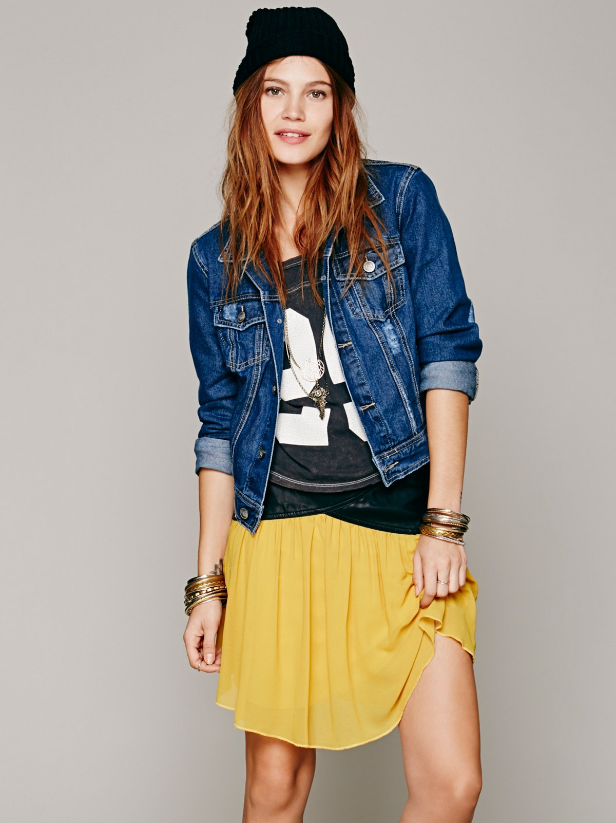 Rock Steady Mini Skirt