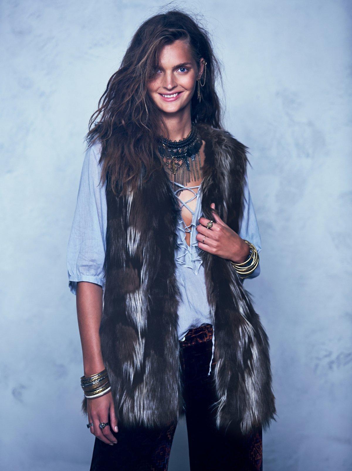 Swagger Fur Vest