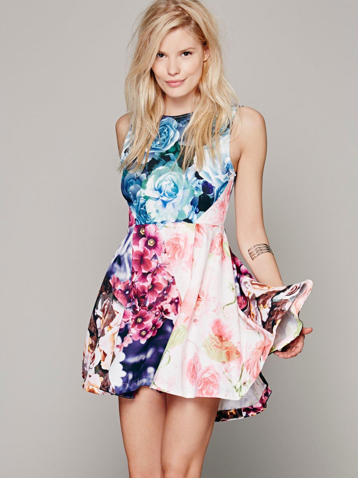 Flower Bomb Kickout Dress