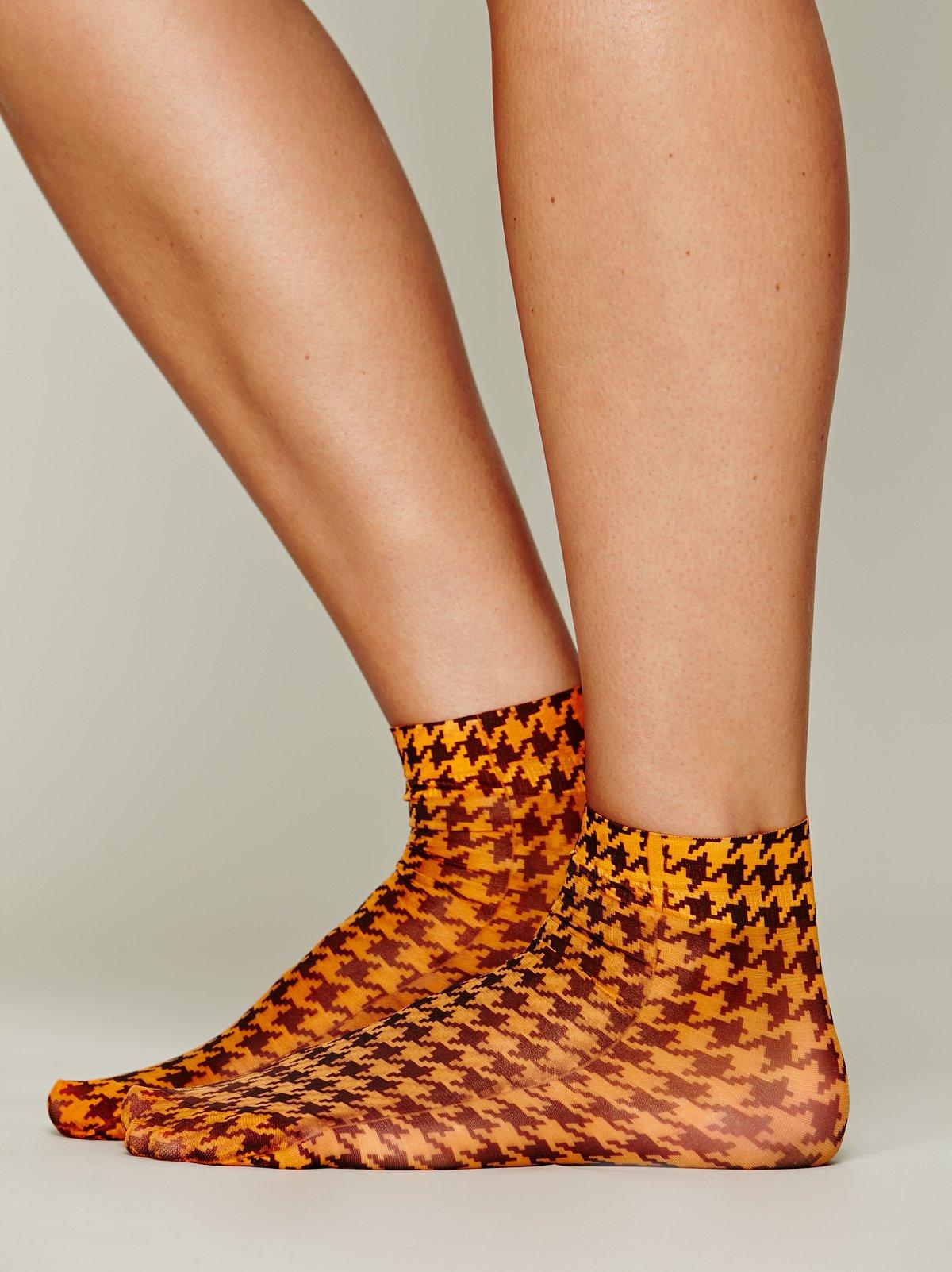 Draper Printed Sock