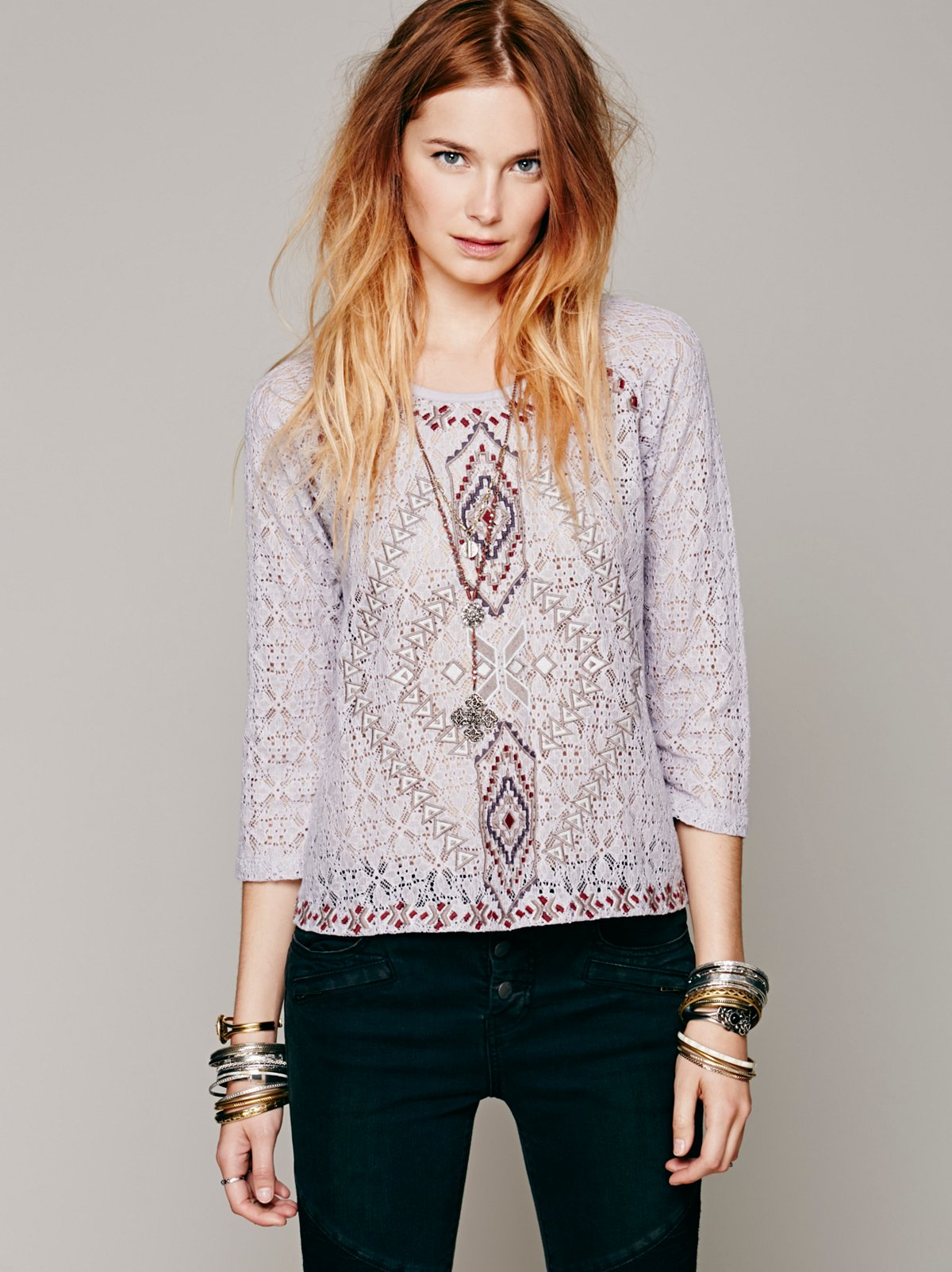 Changing Directions Lace Top