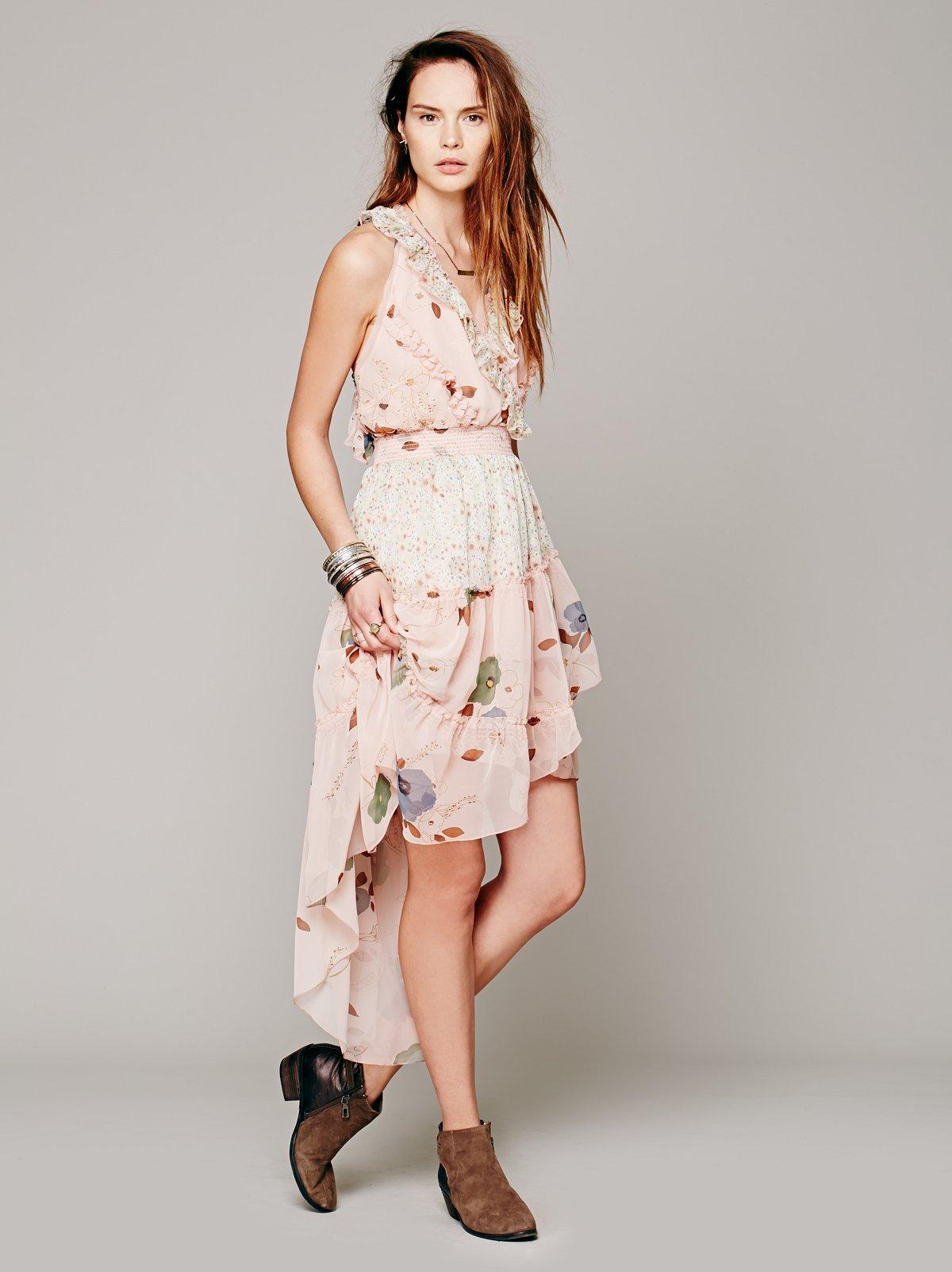 Floral Skies Dress