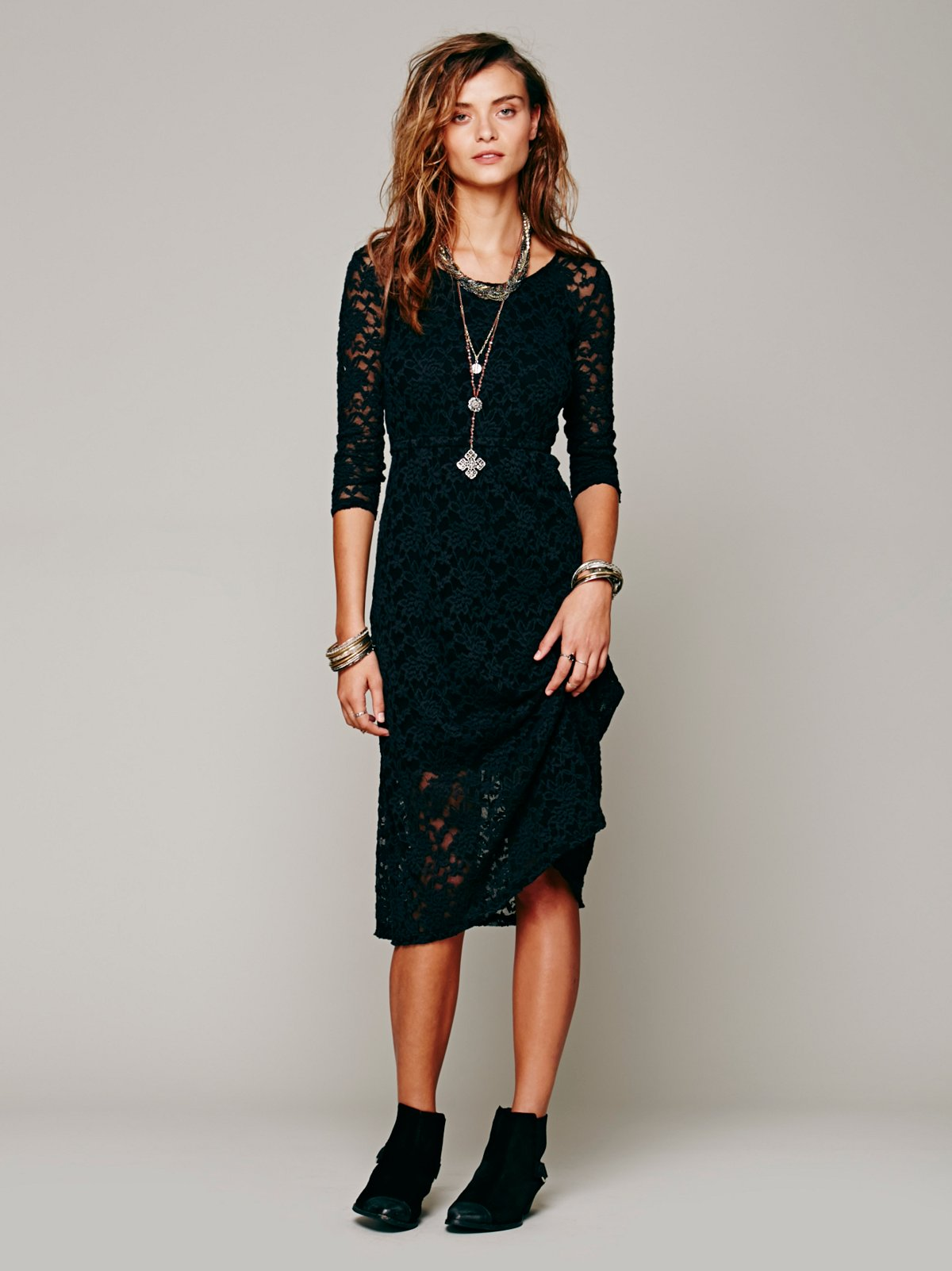 Raindrops Lace Dress