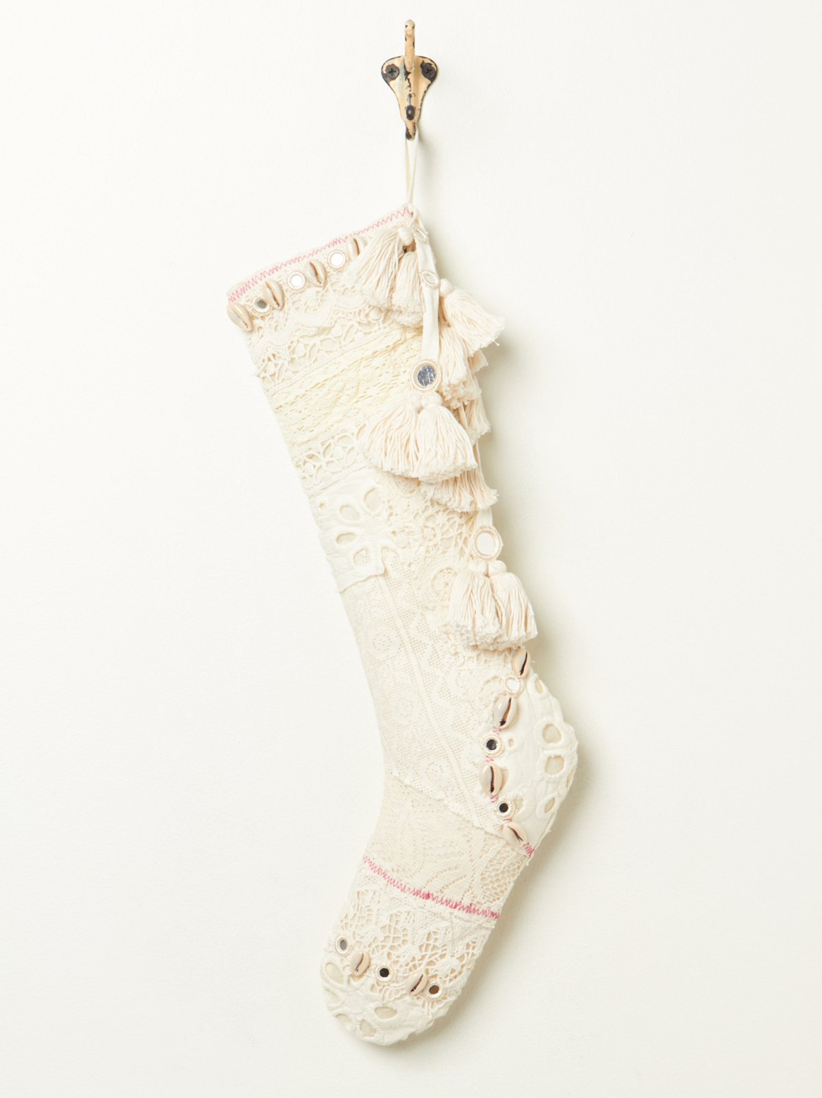 Victorian Lace Booti Stocking