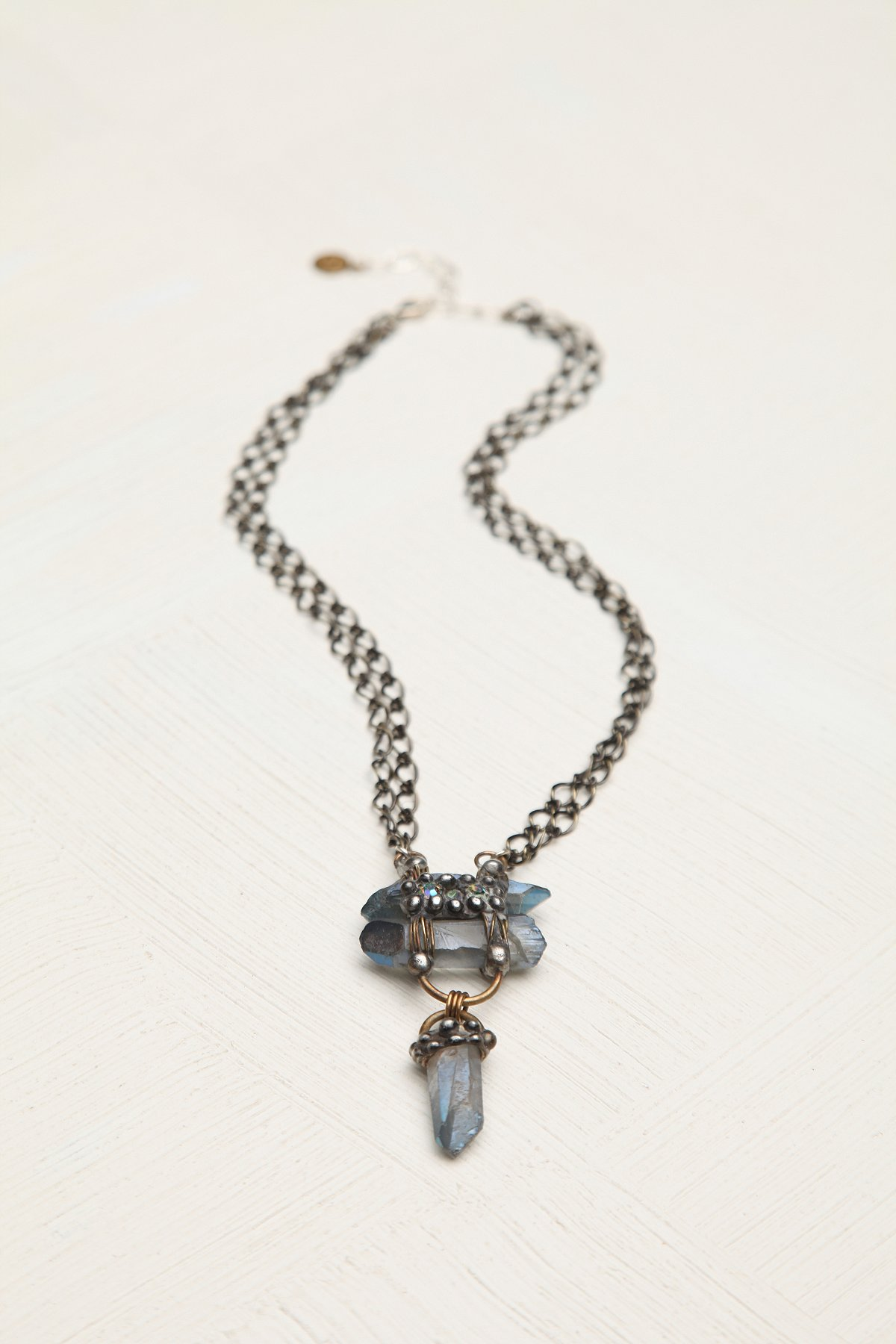 Stacked Crystal Pendant
