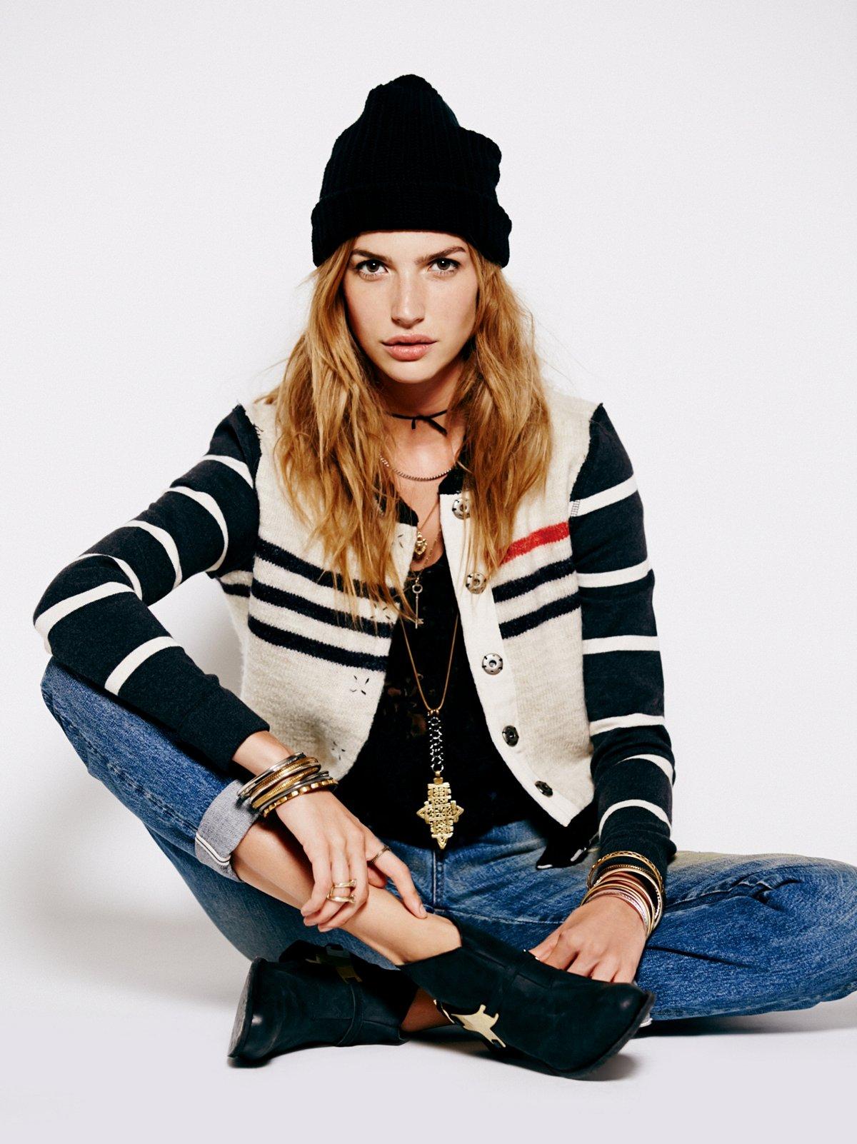 Broad Street Sweater Jacket