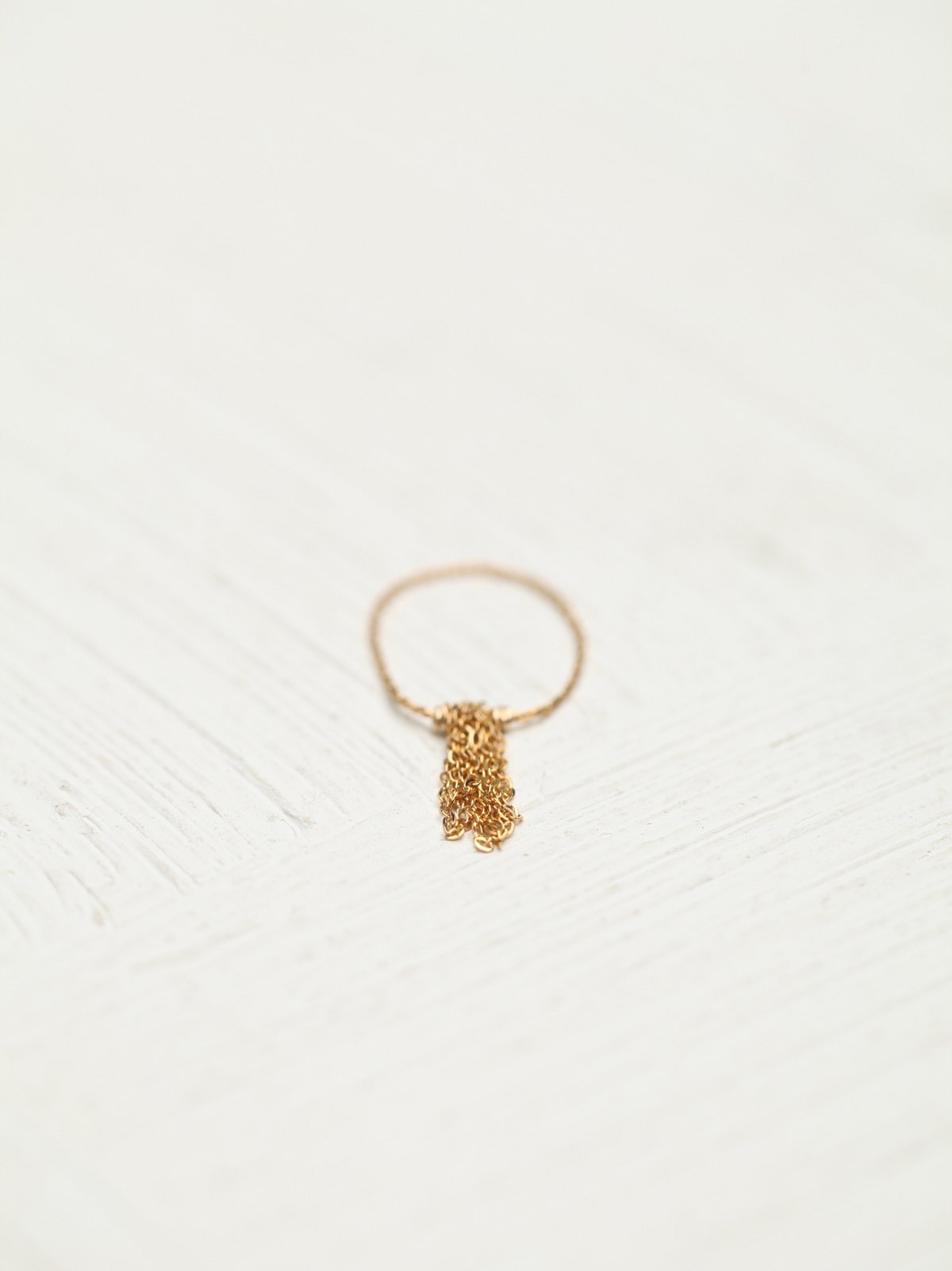 Itty Bitty Fringe Ring