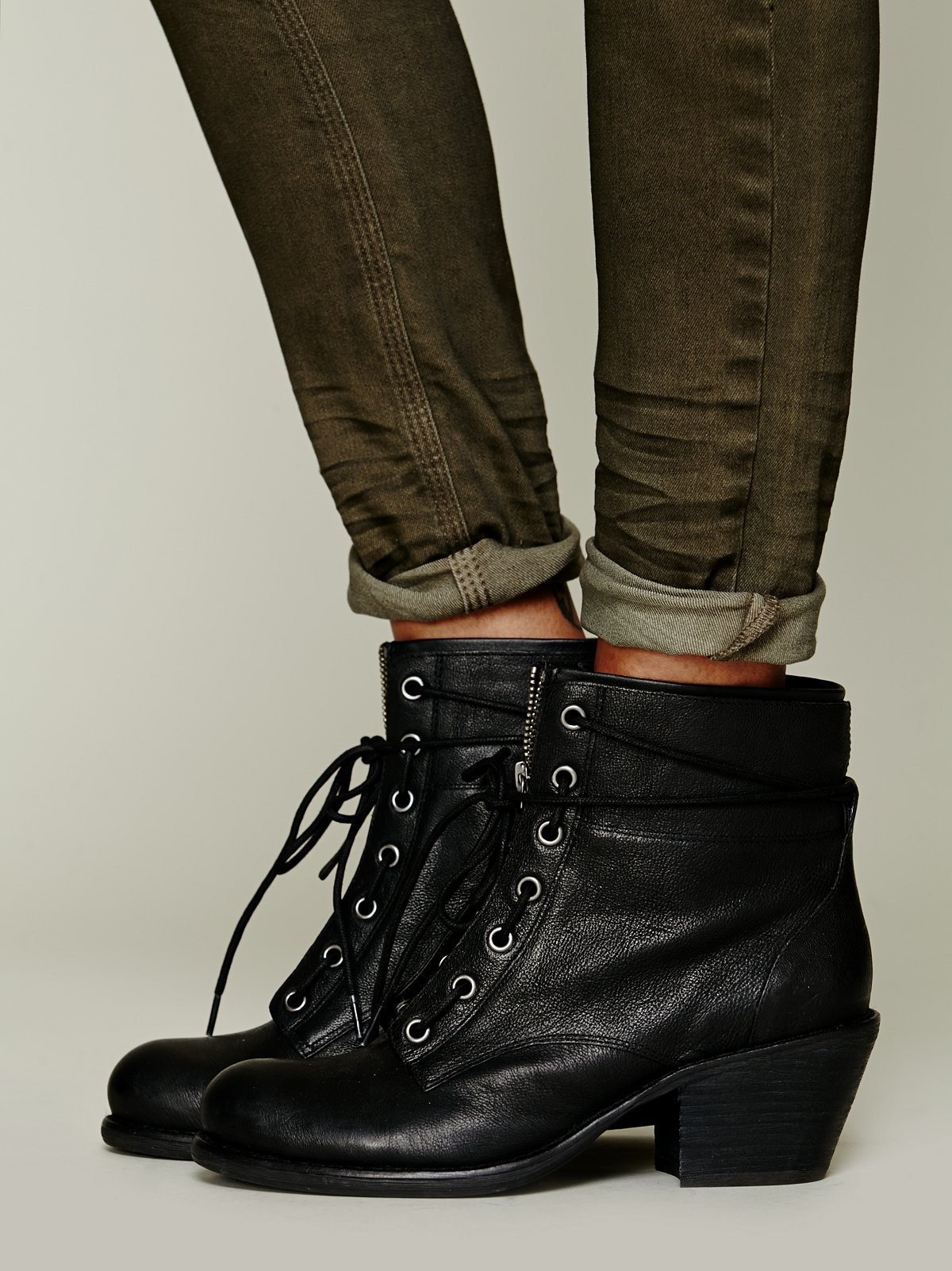 Aberdeen Lace Up Boot