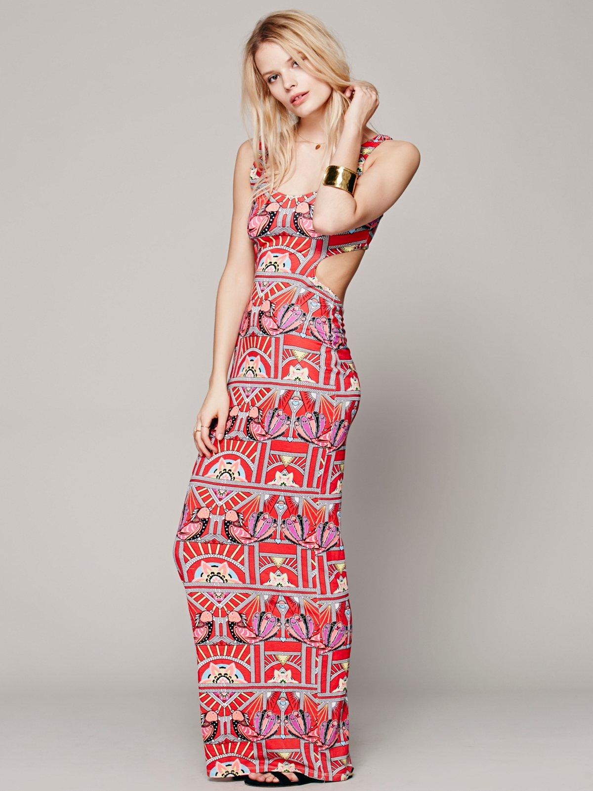 Ananda Cutout Maxi Dress