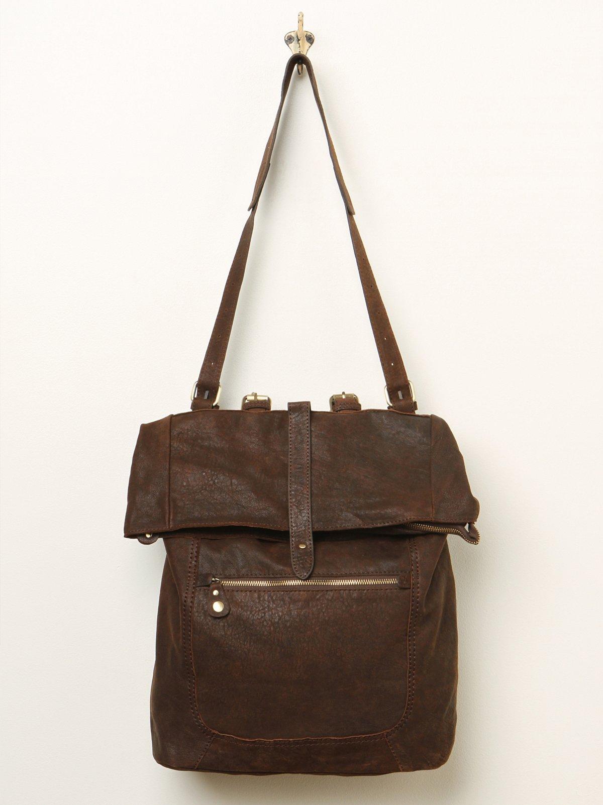 Wyatt Leather Backpack