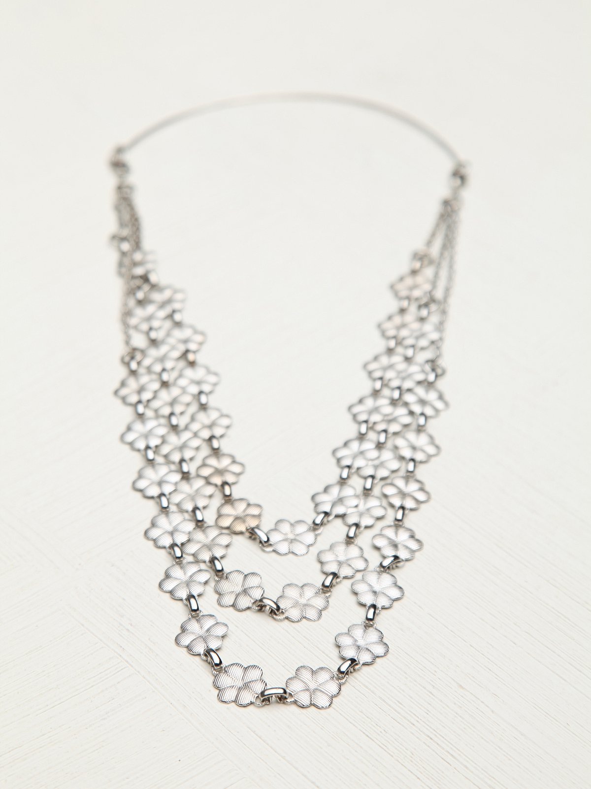 Silver Blossom Headpiece