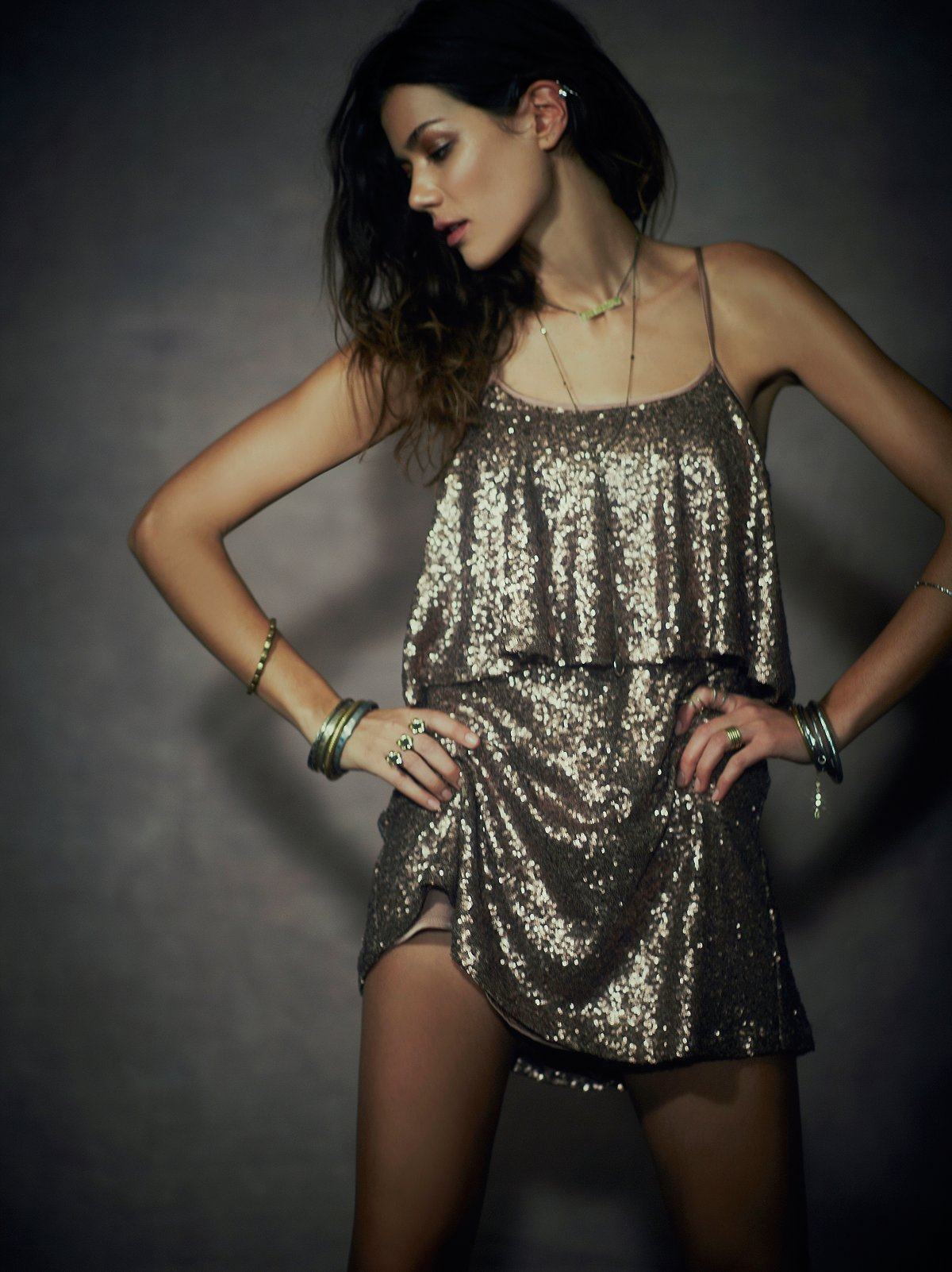 Sunkissed Sequin Dress