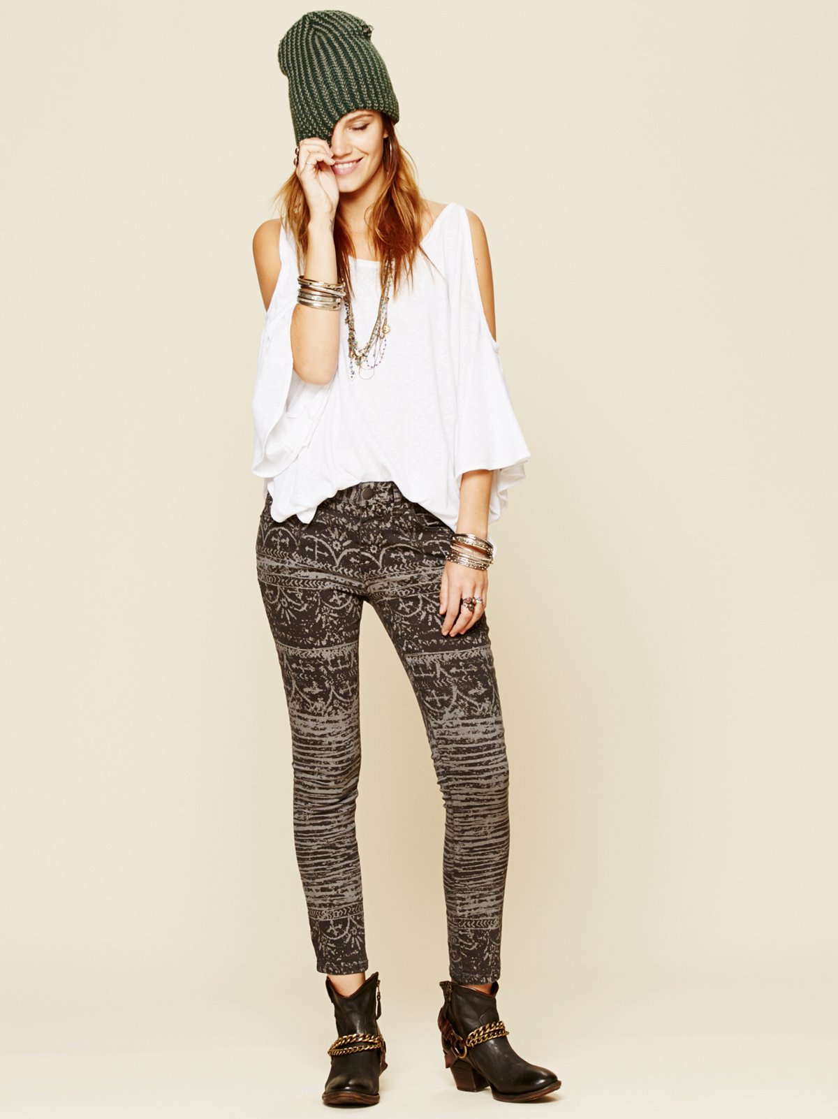 Blackthorne Printed Skinny