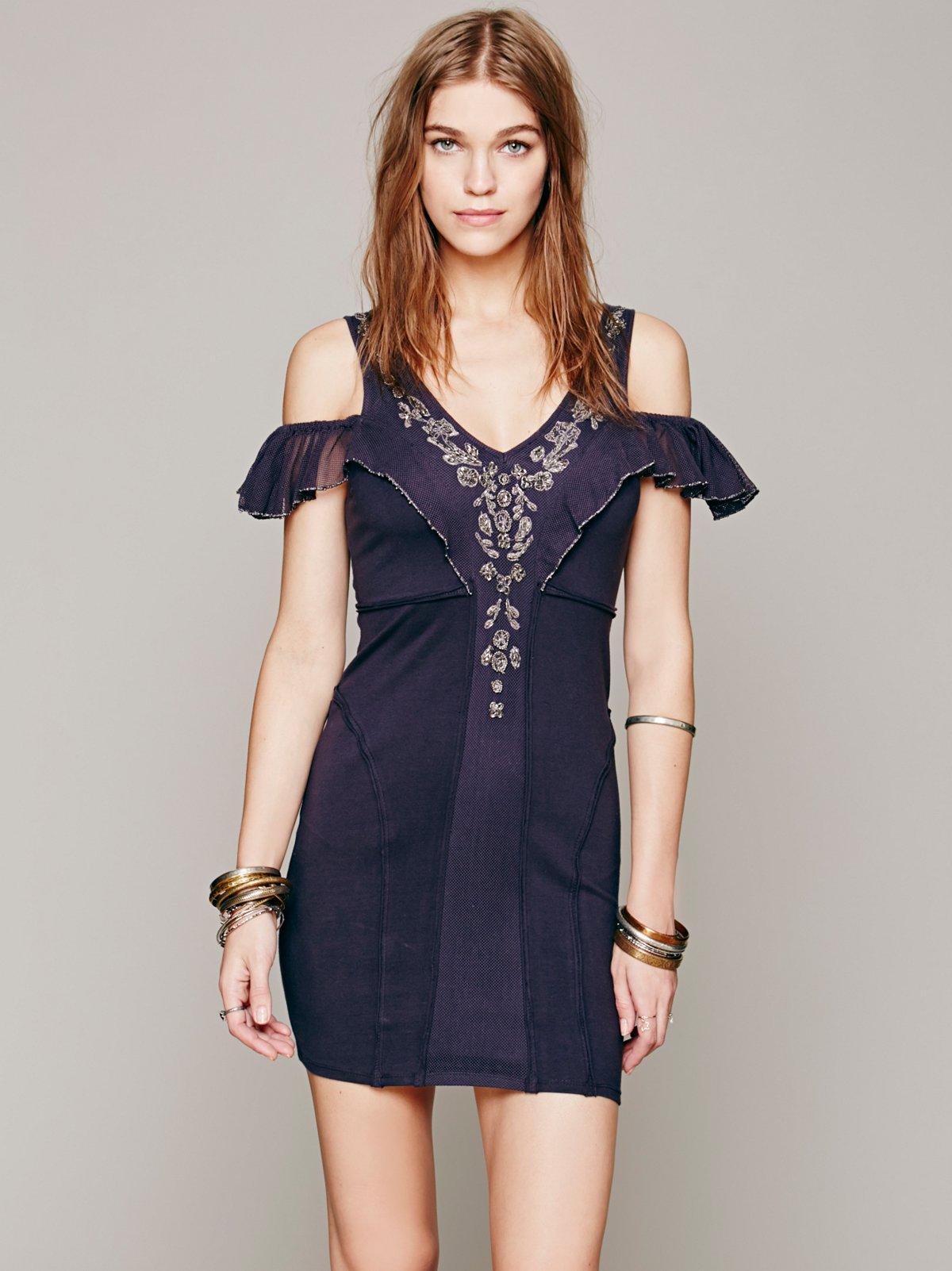 Candelabra Mini Dress