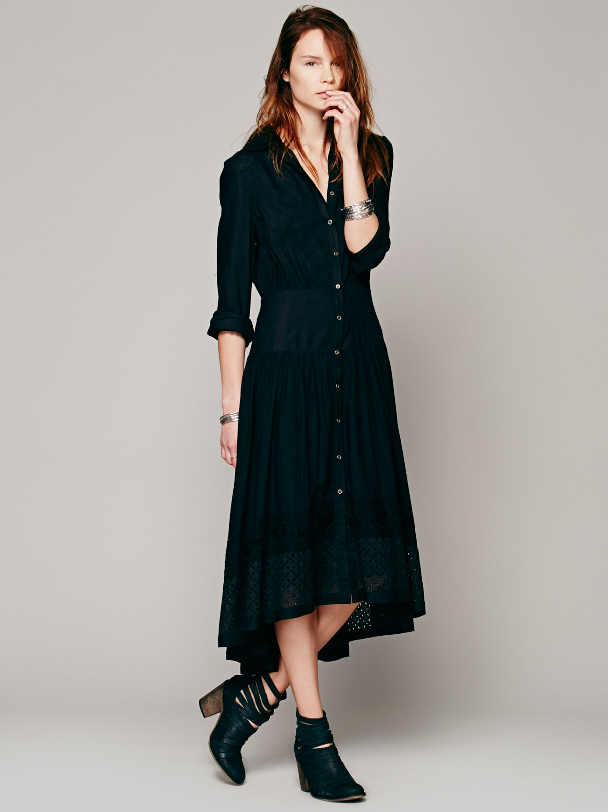 FP New Romantics Dream Shirt Dress