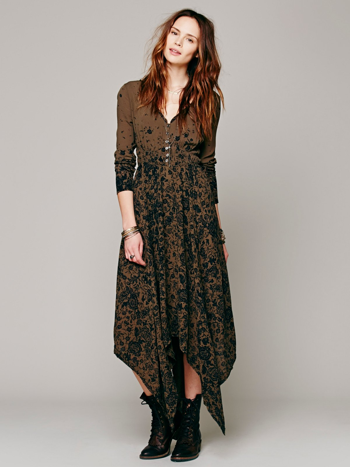 Lavina Midi Dress