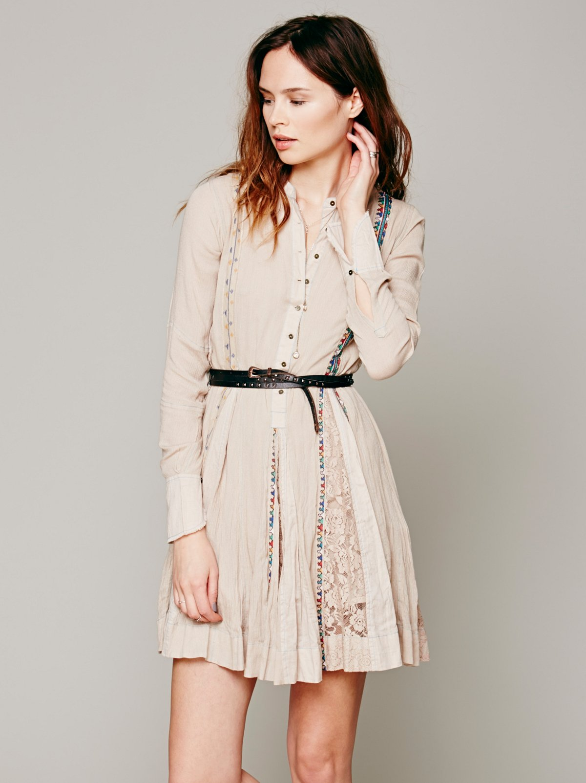FP ONE Boho Shirt Dress
