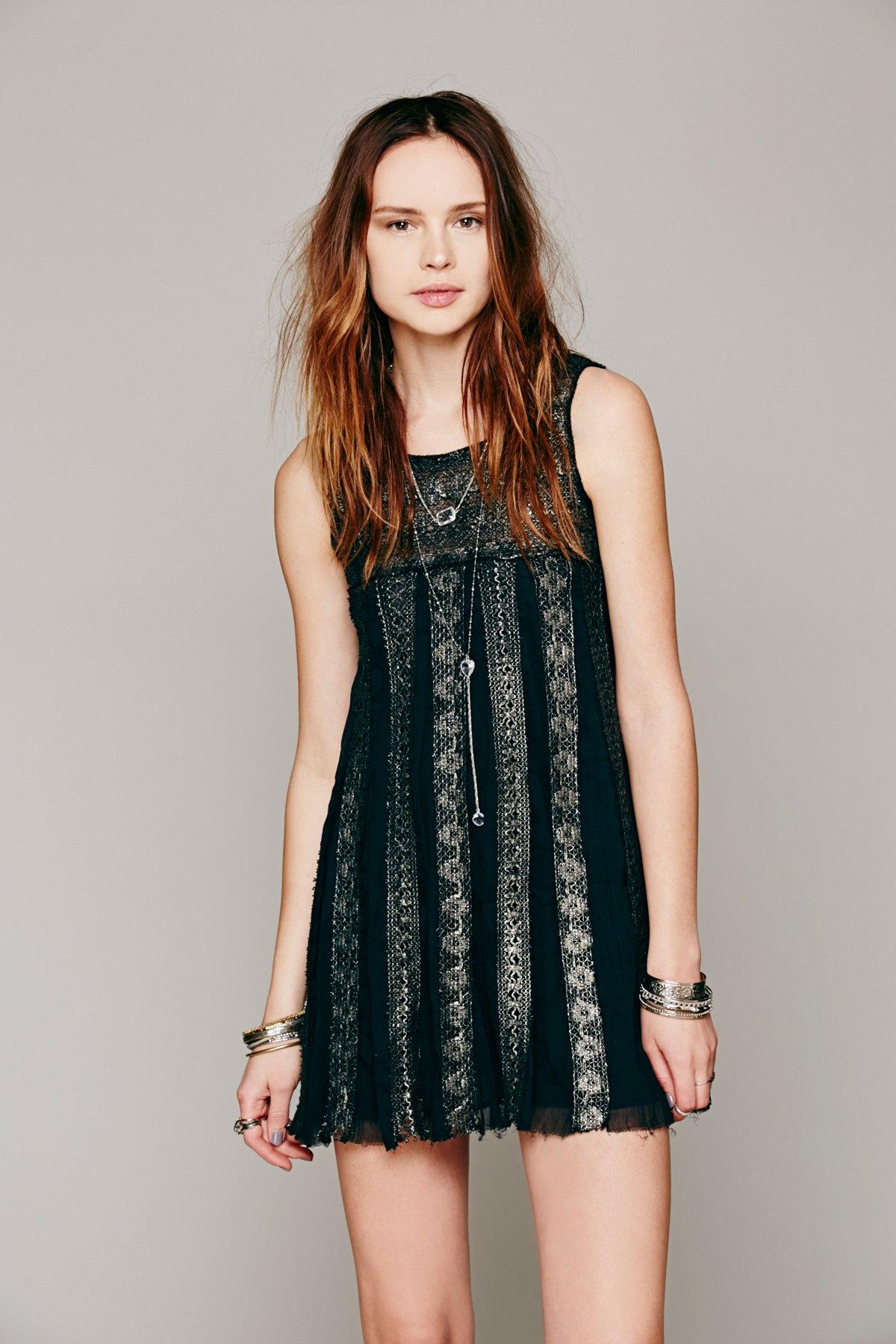 FP ONE Foiled Annabella Dress