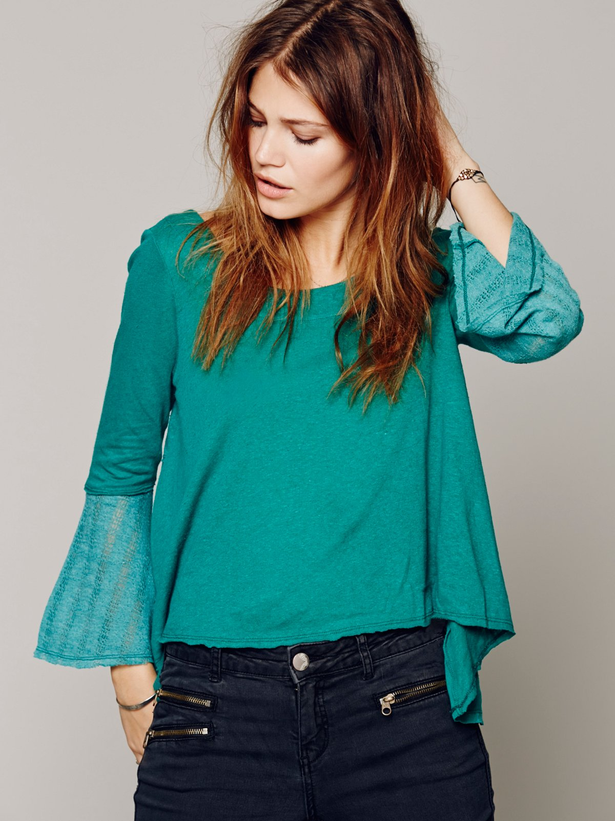 Flare That Sleeve Tee