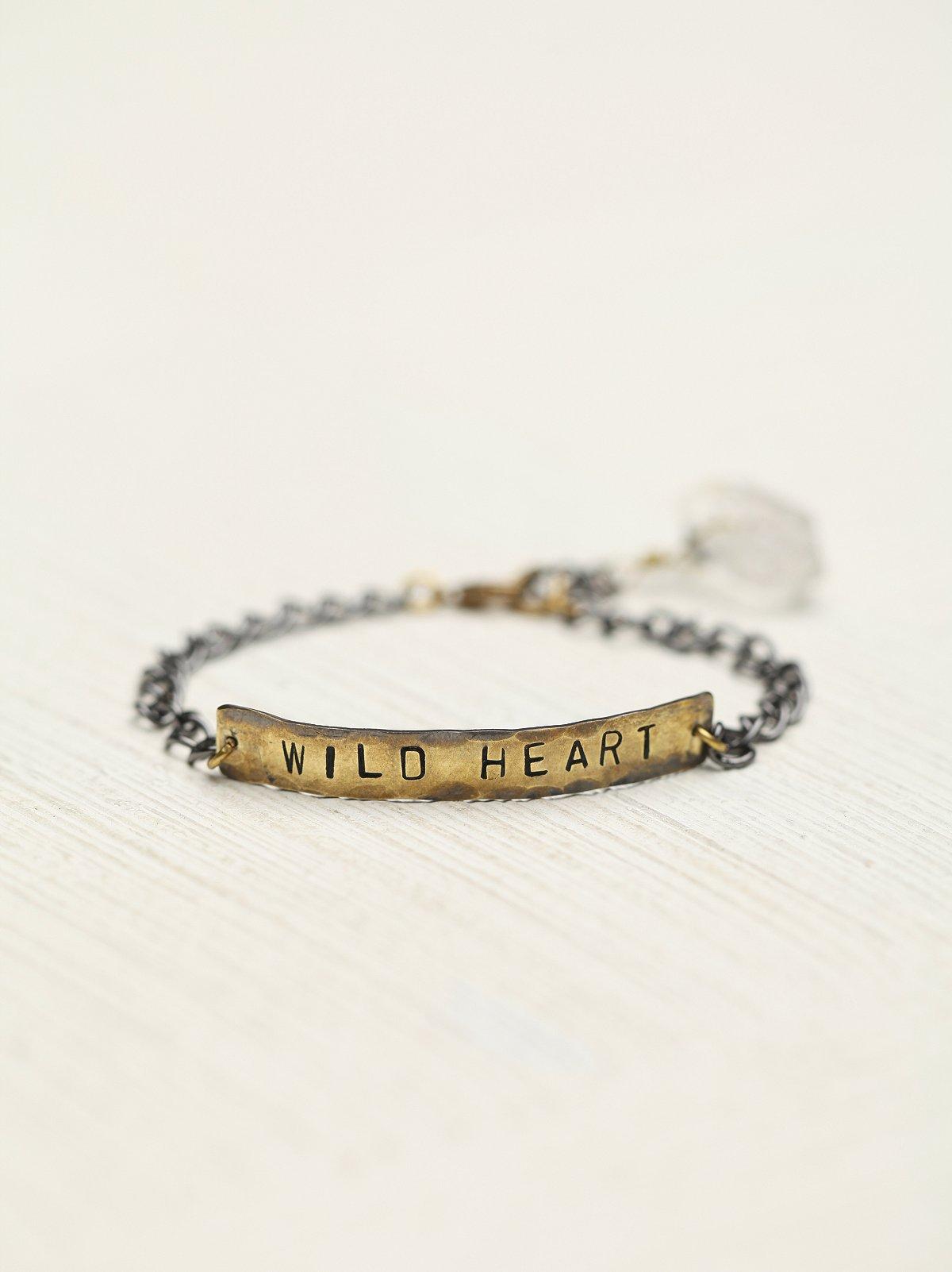 Etched Plate Bracelet