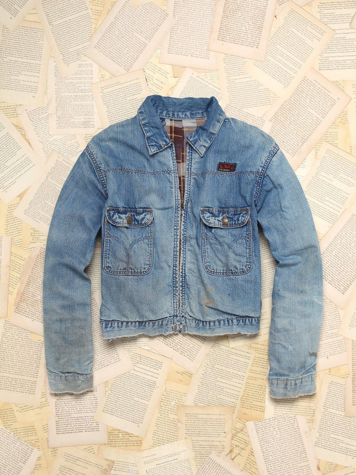 Vintage TufNut 2-Pocket Denim Jacket