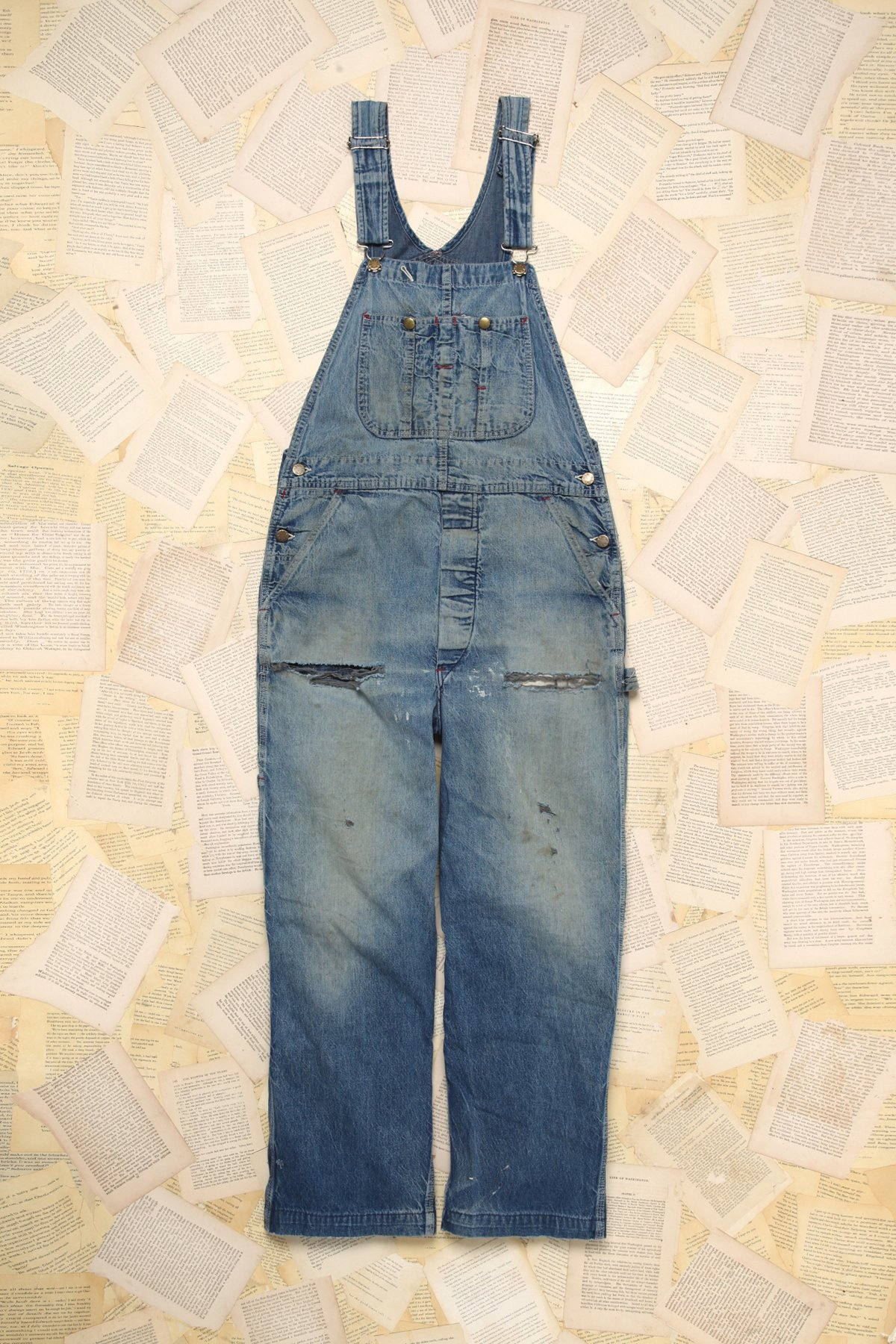 Vintage Patched Overalls