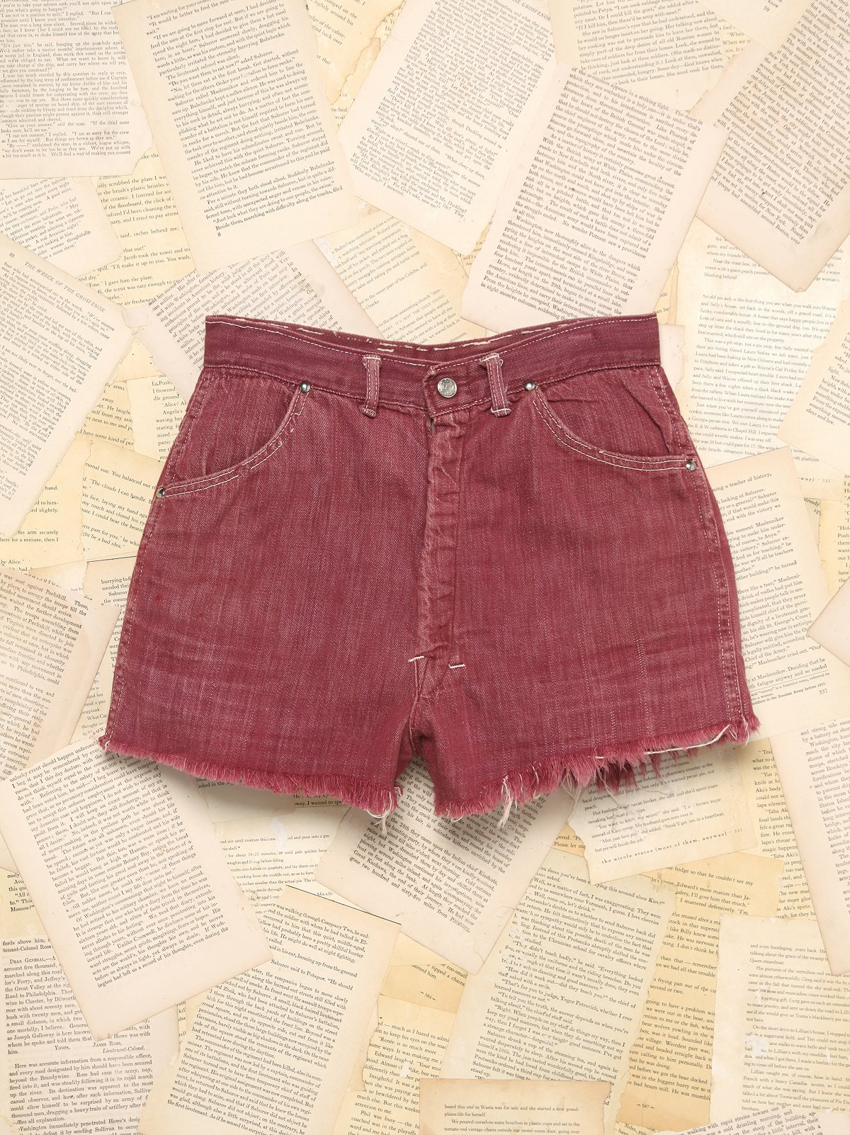 Vintage 1960s Denim Shorts