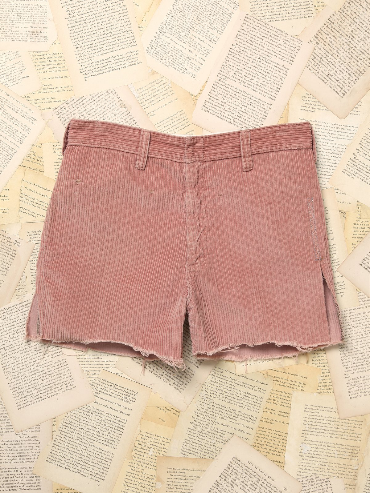 Vintage 1960s Cord Cut Off Shorts