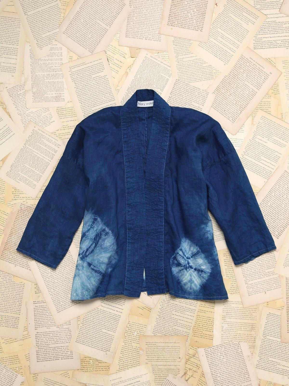 Vintage Hilary Walsh Tie Dye Kimono
