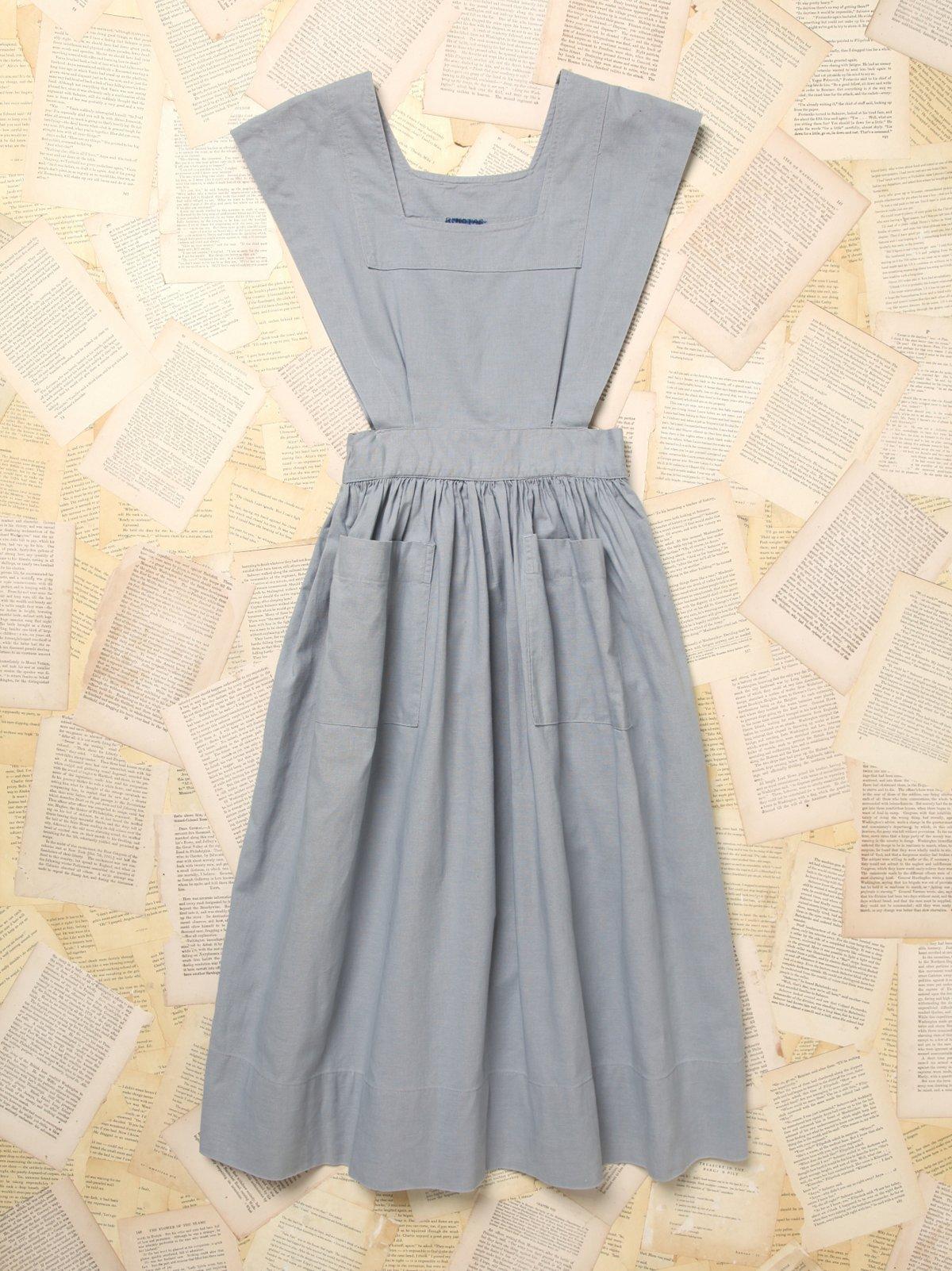 Vintage Chambray Dress