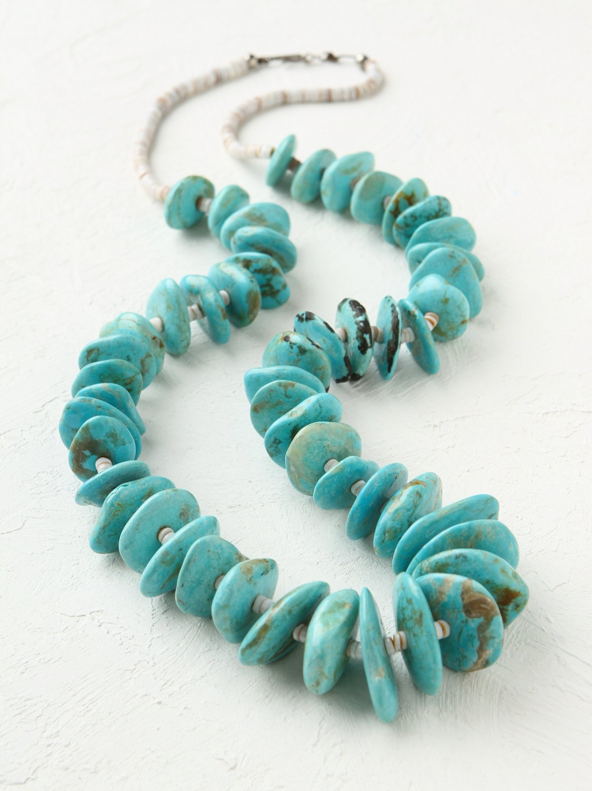 Vintage Stone and Bead Necklace