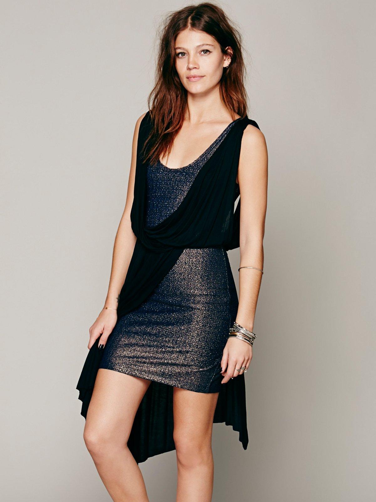 Elanore Mini Wrap Dress