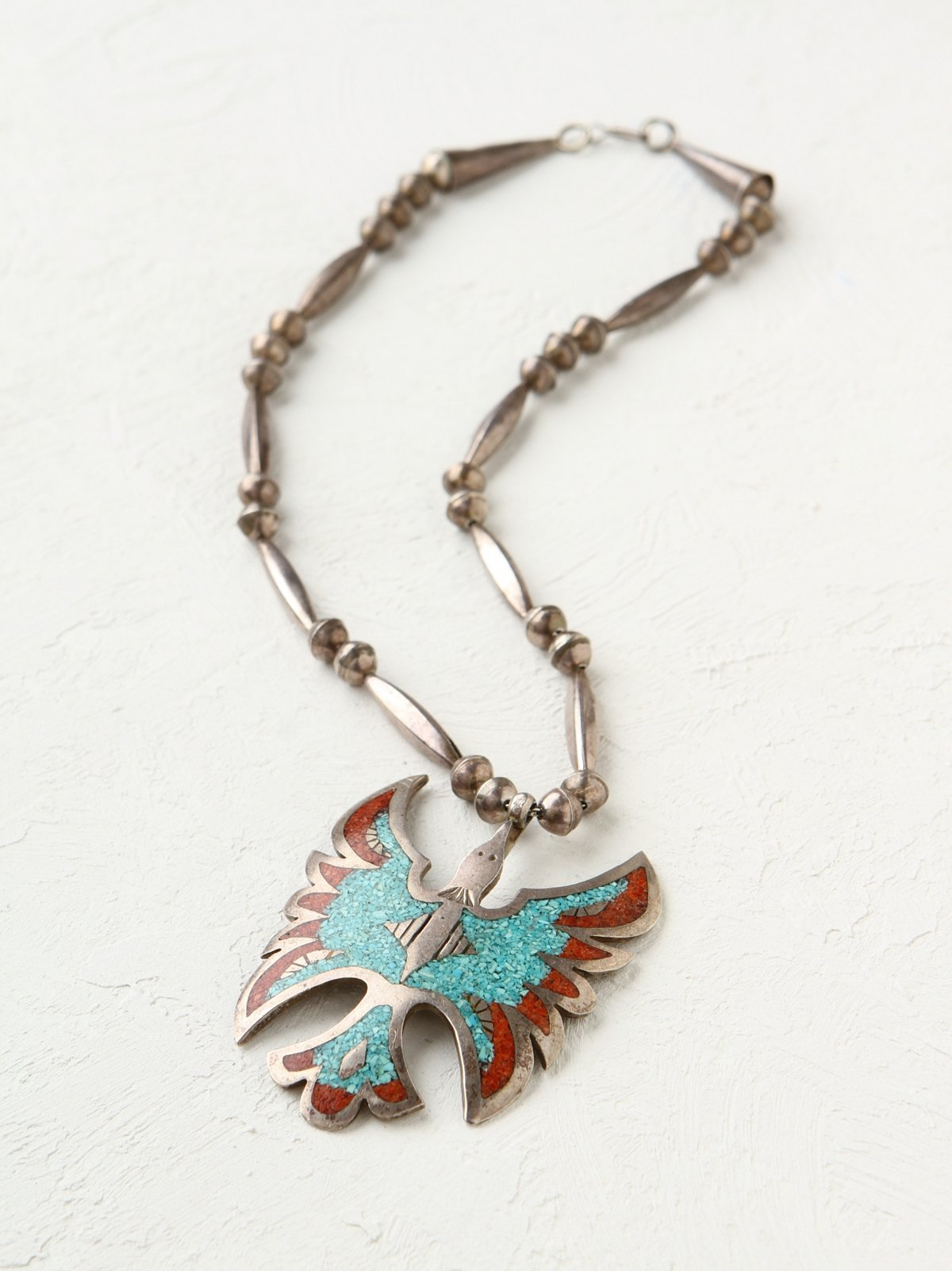 Vintage 70s Thunderbird Necklace