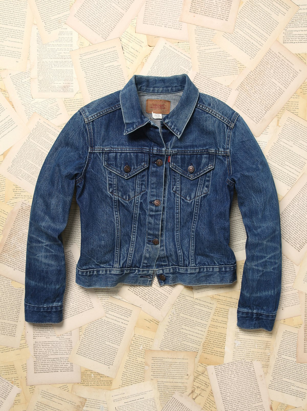 Vintage Levi's Shruken Denim Jacket