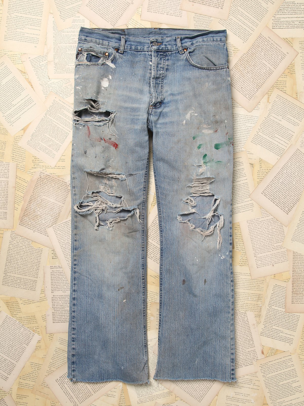 Vintage RYO Denim Pants