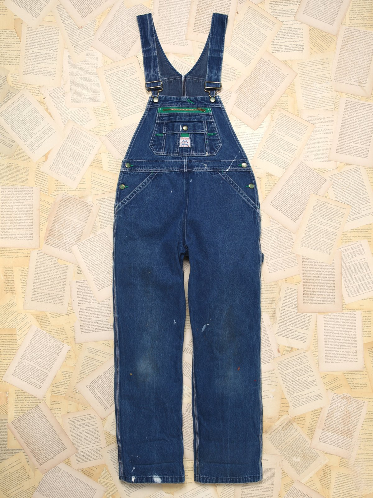 Vintage Lady Liberty Overalls