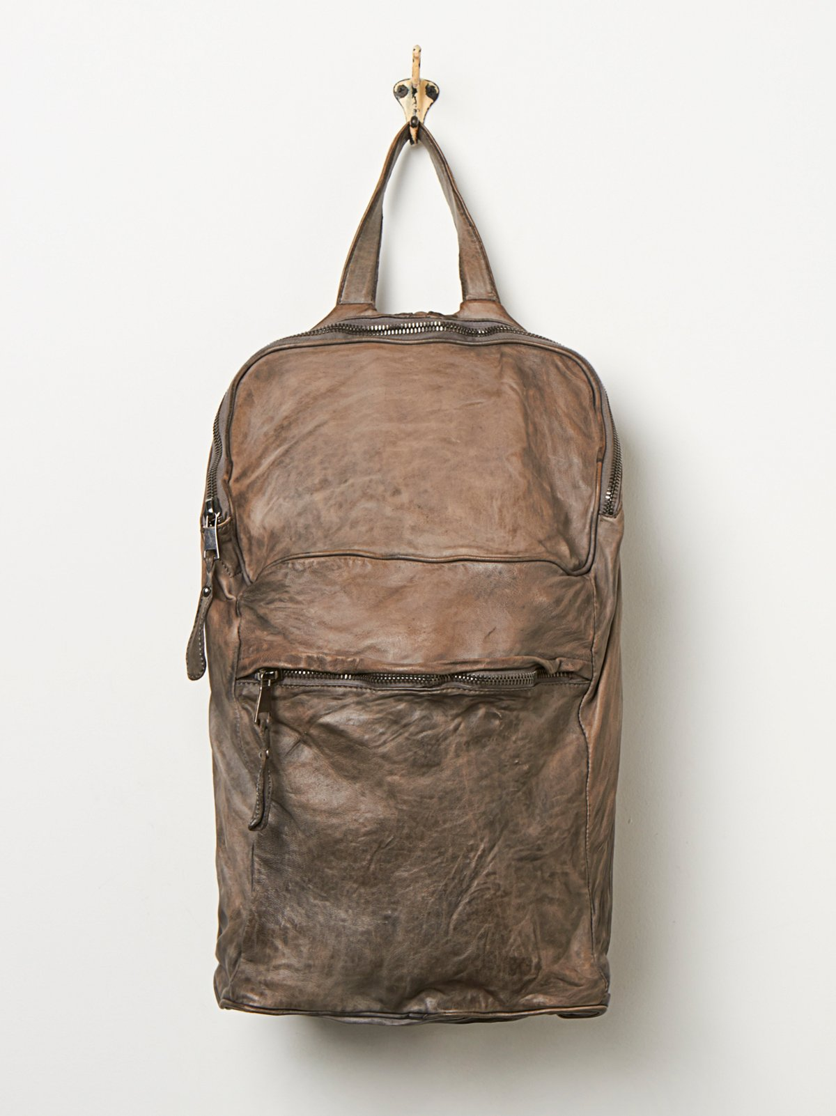 Giogrio Brato Leather Backpack