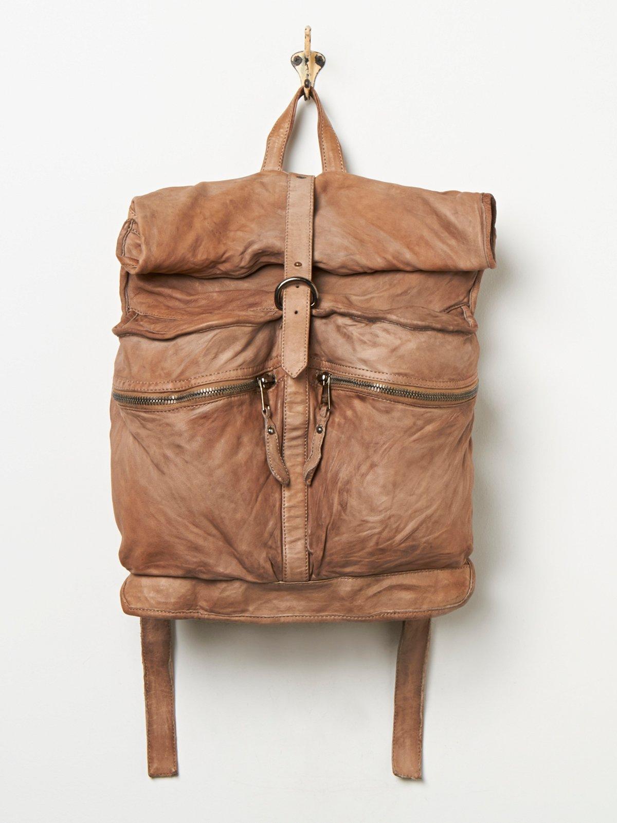 Arlo Leather Backpack