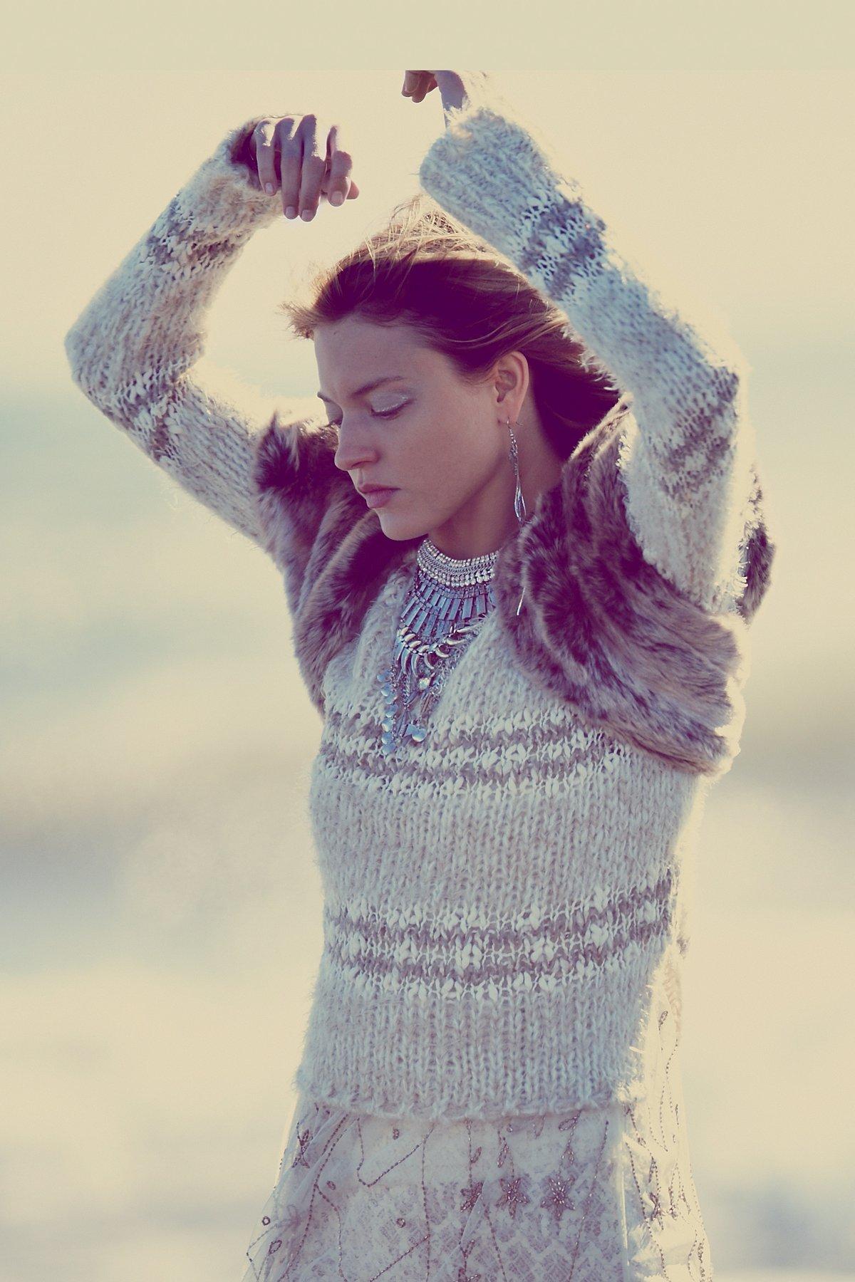 Cozy In Stripes Pullover