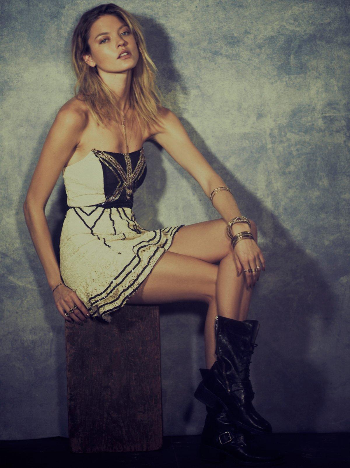 Lace Coquette Mini Dress
