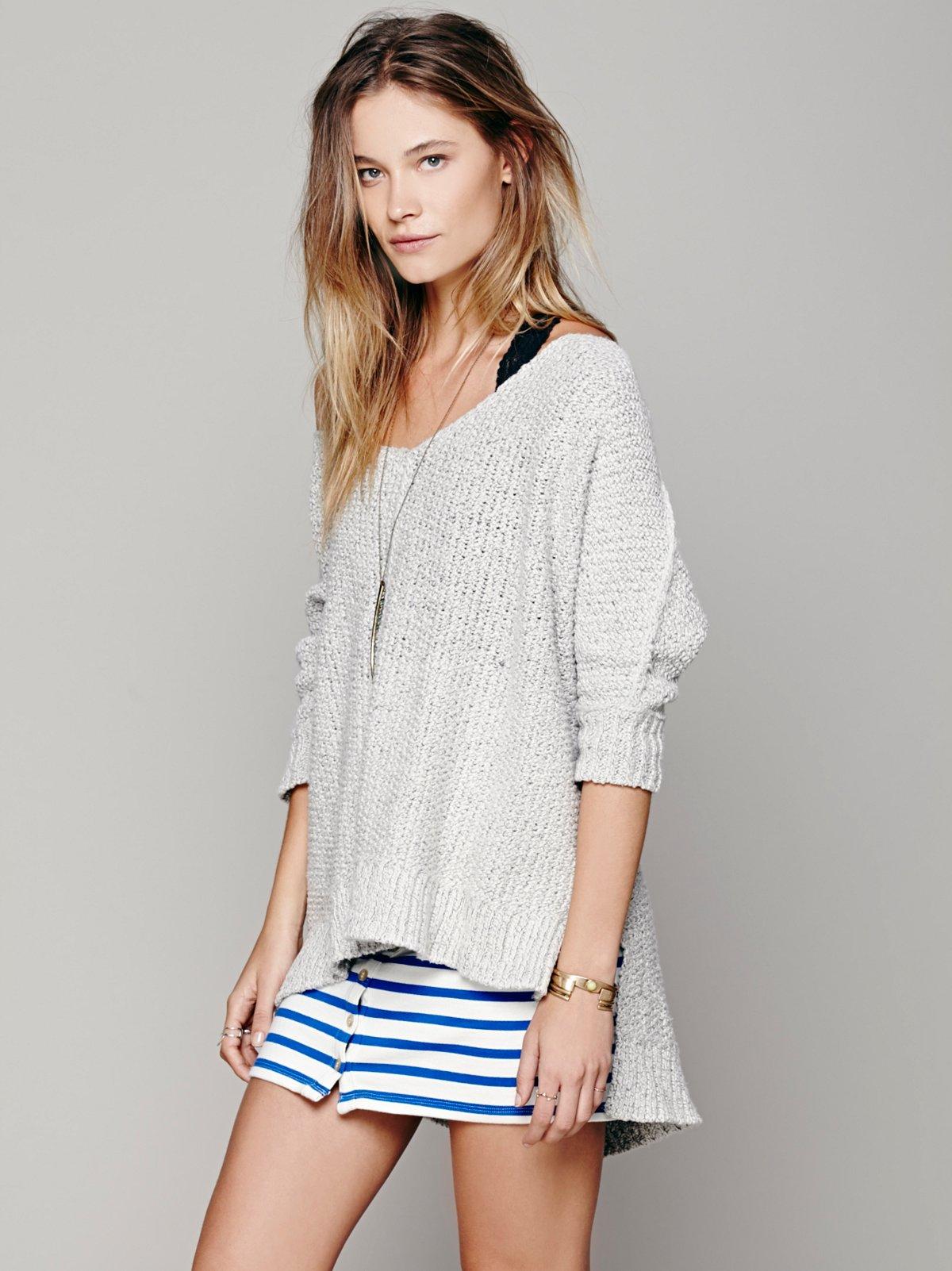 Easedrop Stripe Skirt