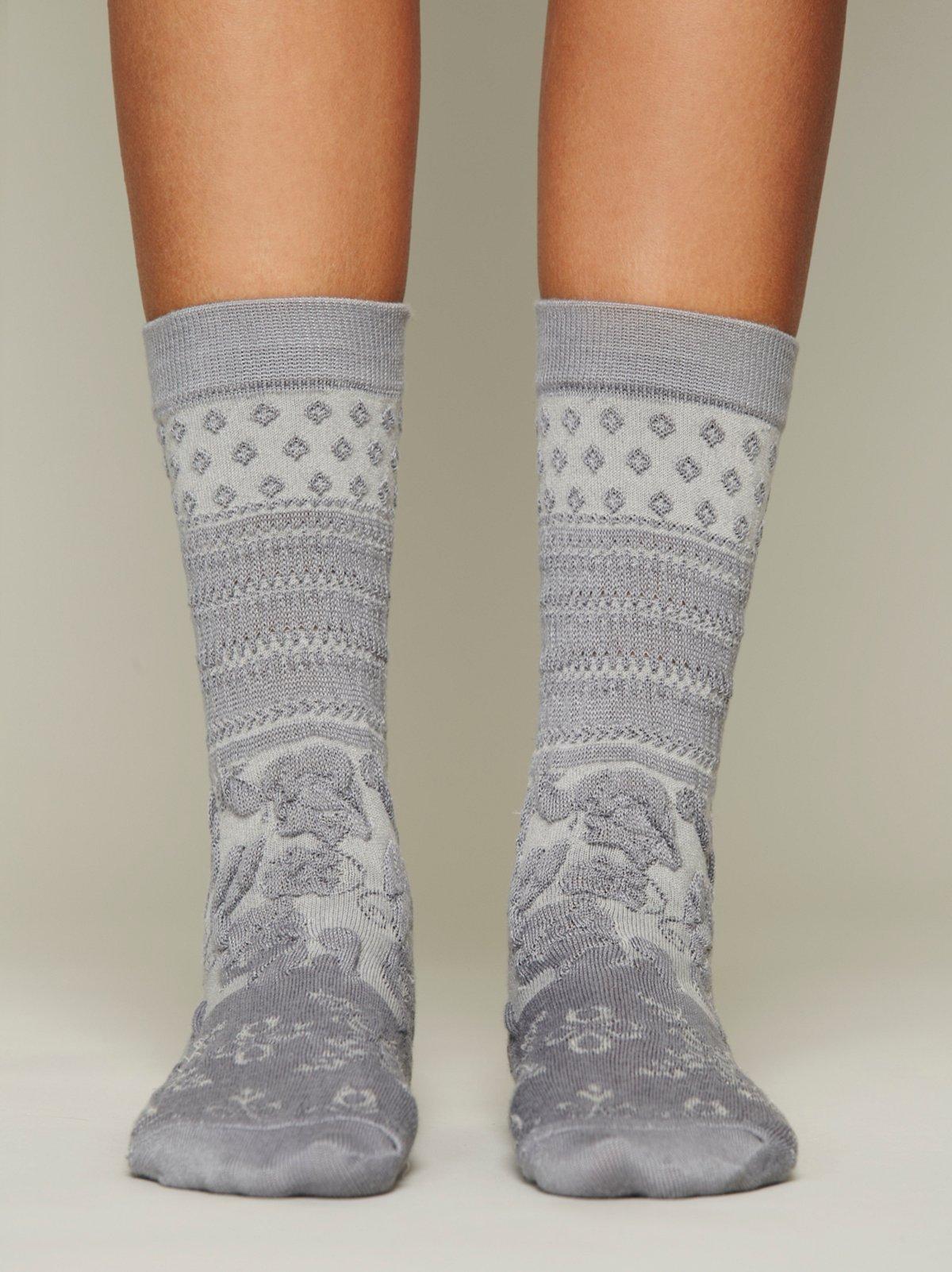 Woodland Crew Sock