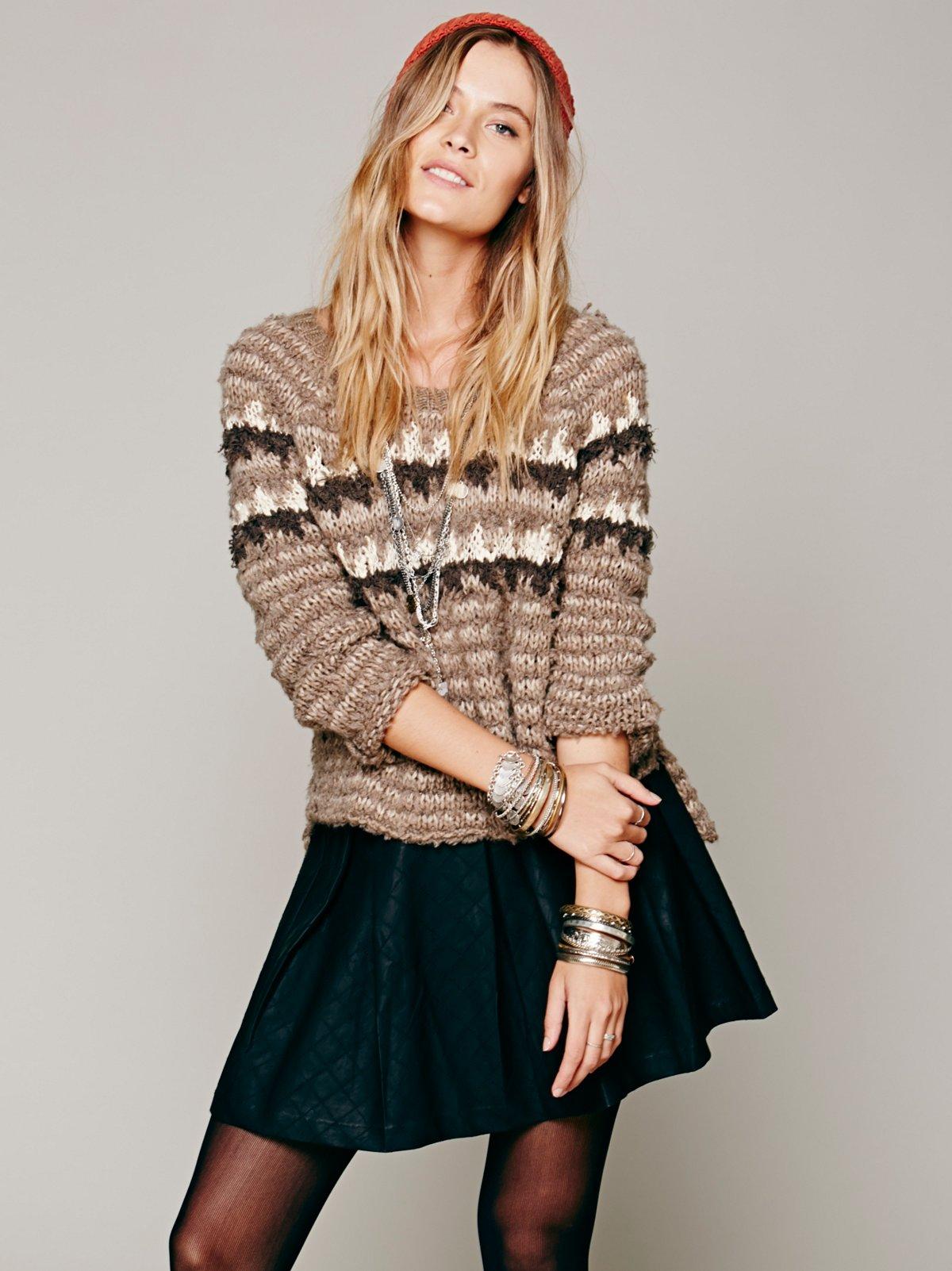 Mairin Vegan Leather Skirt