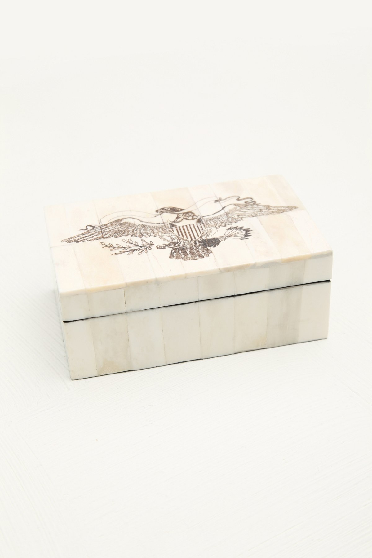 American Eagle Jewelry Box
