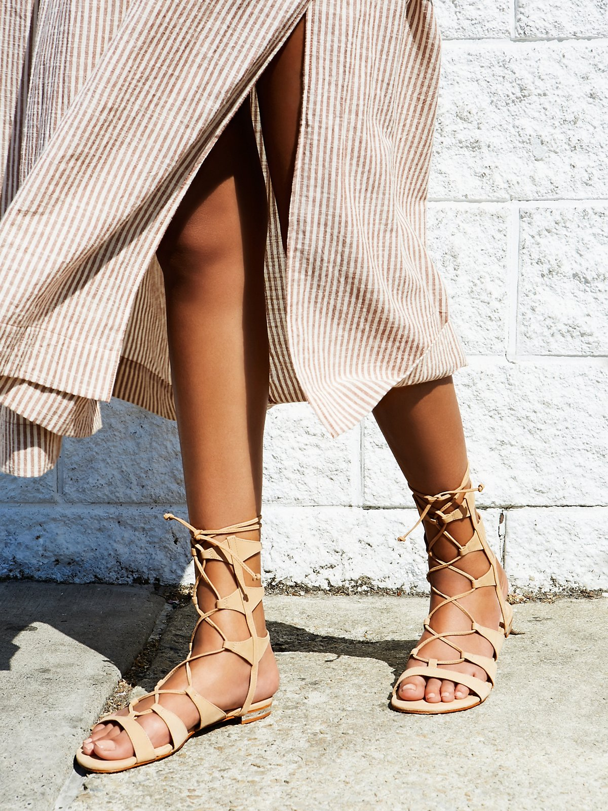 Lina Lace Up Sandal