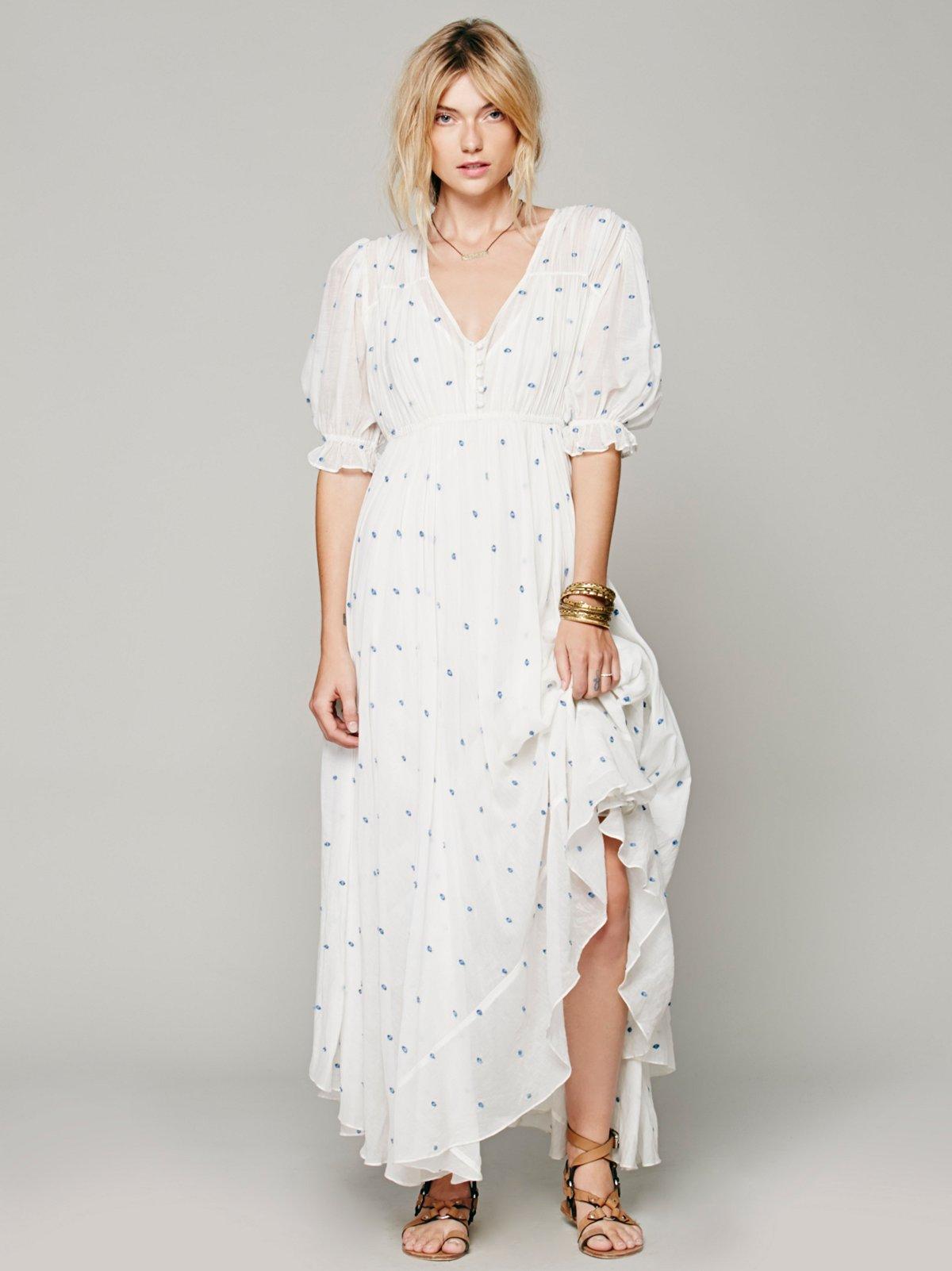Louise Dot Dress