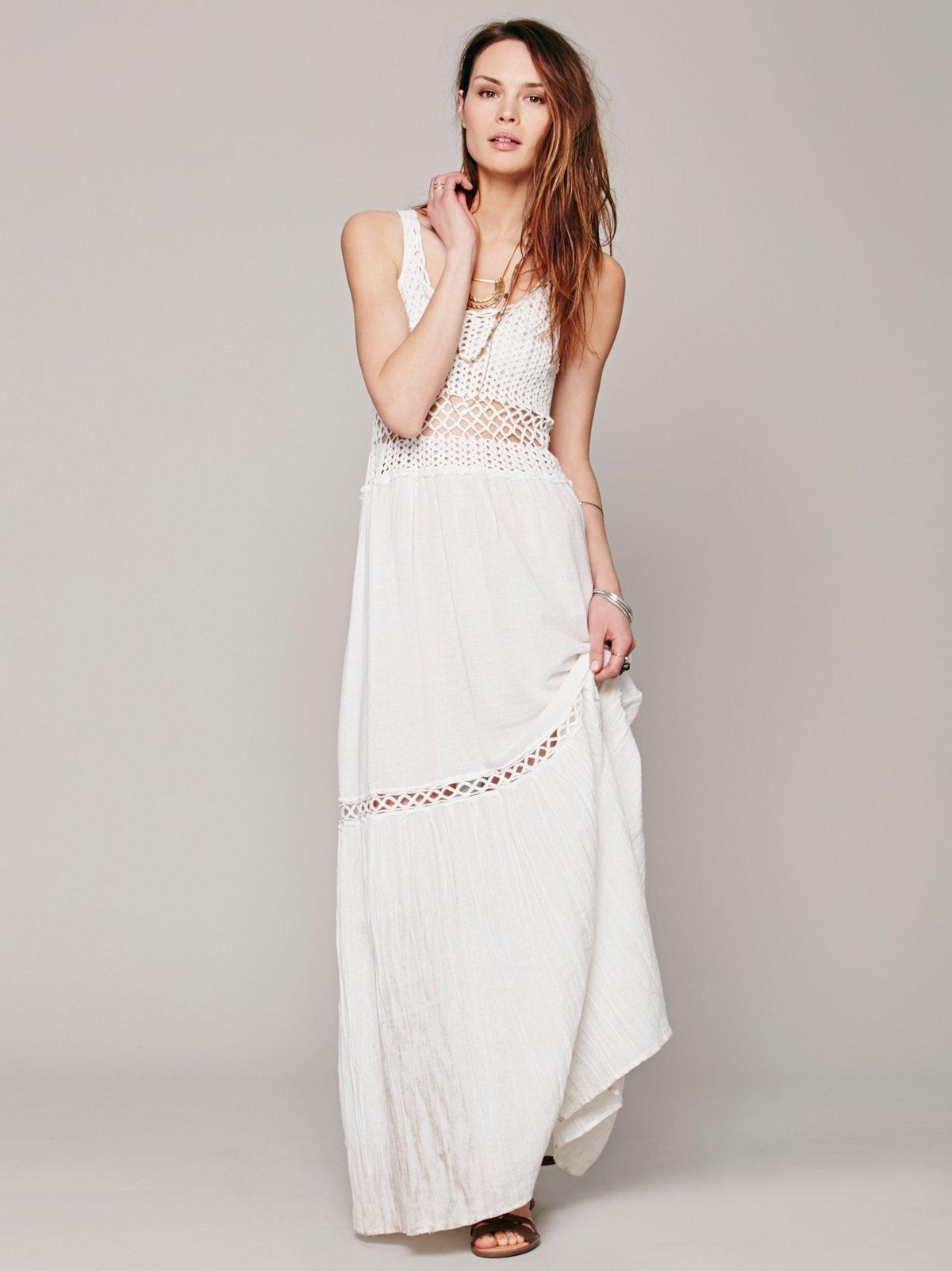 Clemintine Crochet Dress