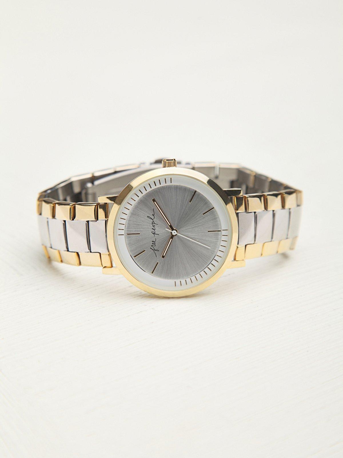 Metal Link Watch