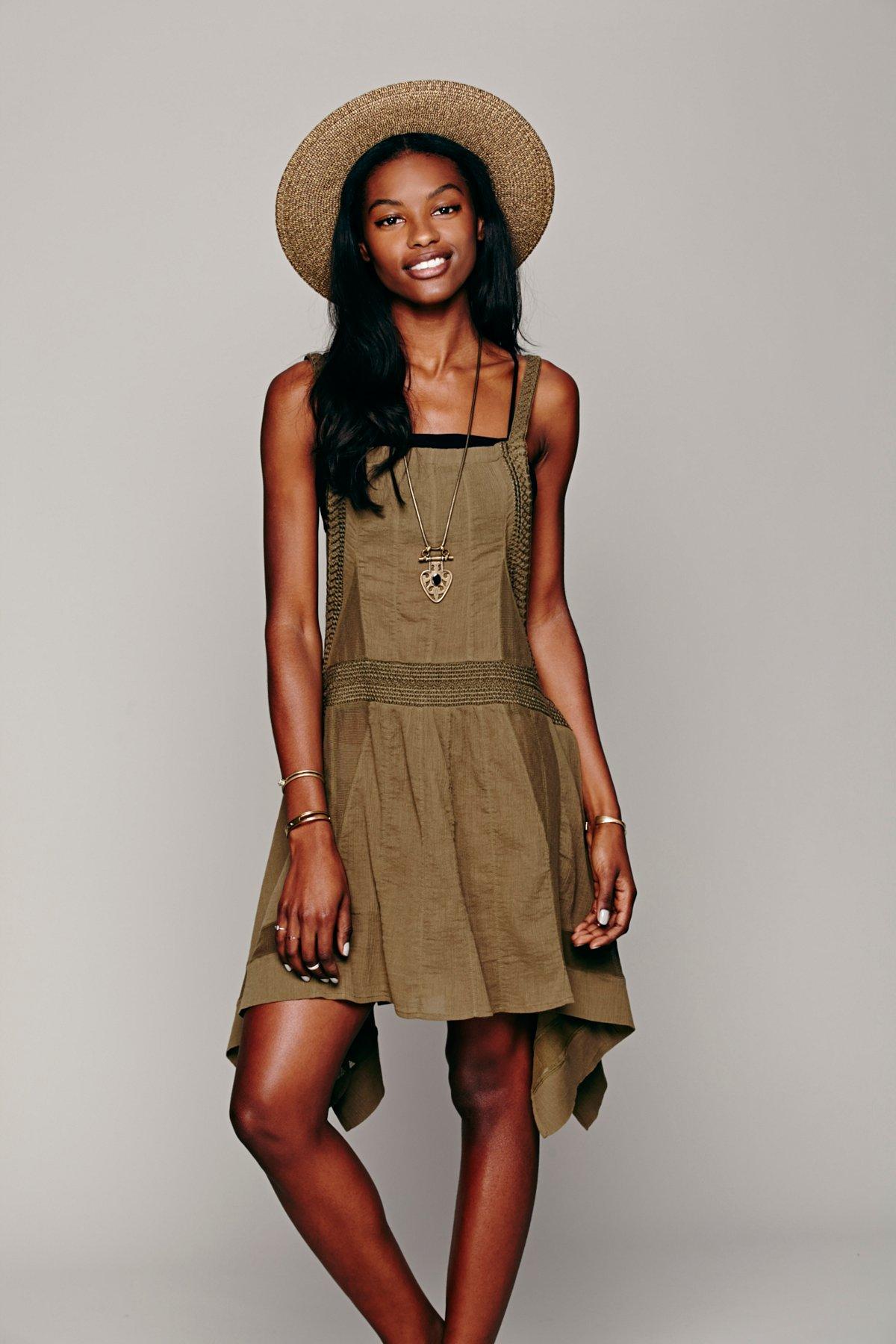 FP New Romantics Breezy Overall Dress
