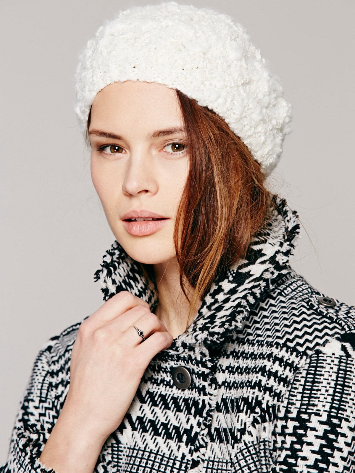 Thick Chunky Knit Beret